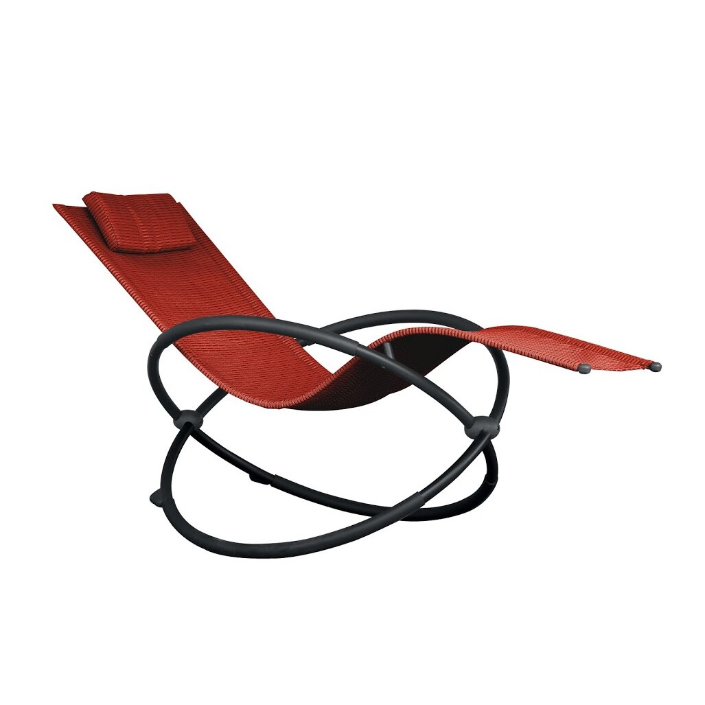 Wooden beach lounge chair - The Orbital Chair