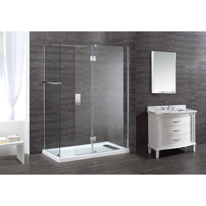 Ove Decors Nevis 46 6 Quot X 79 Quot Shower Door Amp Reviews Wayfair