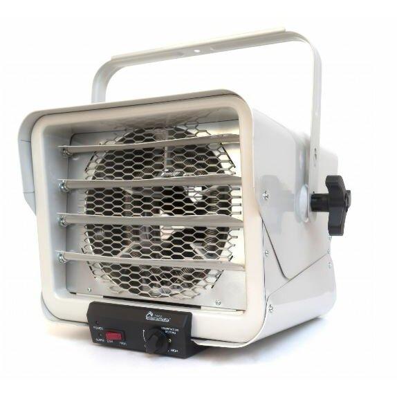 Dr Infrared Heater 6 000 Watt Wall Mounted Electric Fan Utility Heater Reviews Wayfair