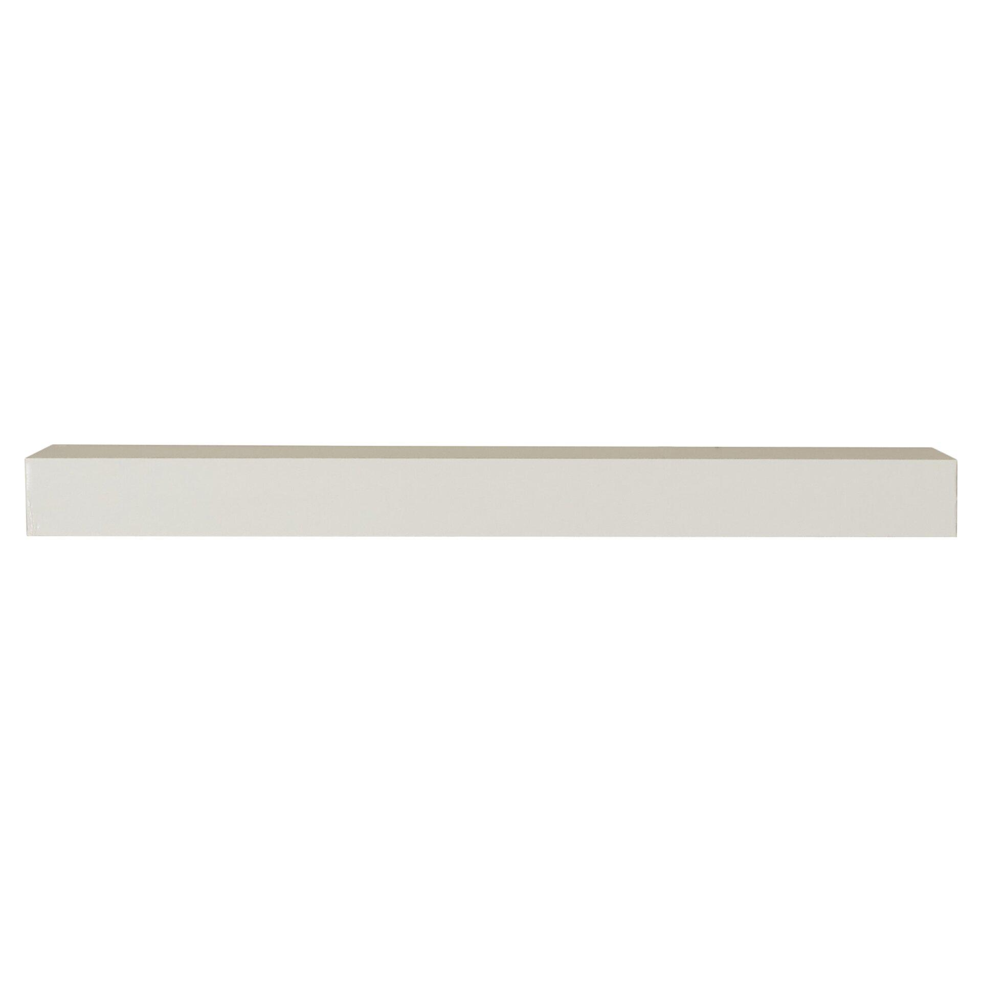 Way basics eco floating wall shelf reviews wayfair - Ikea etagere blanche ...
