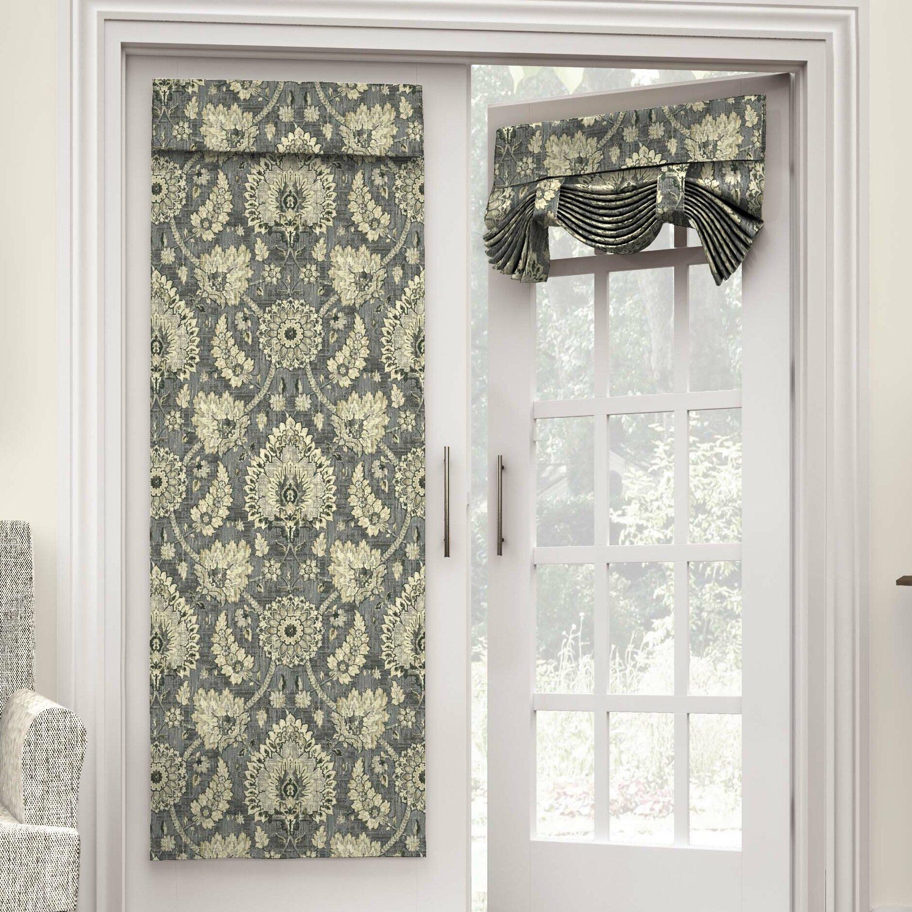 Velcro french door curtain panels - Velcro French Door Curtain Panels