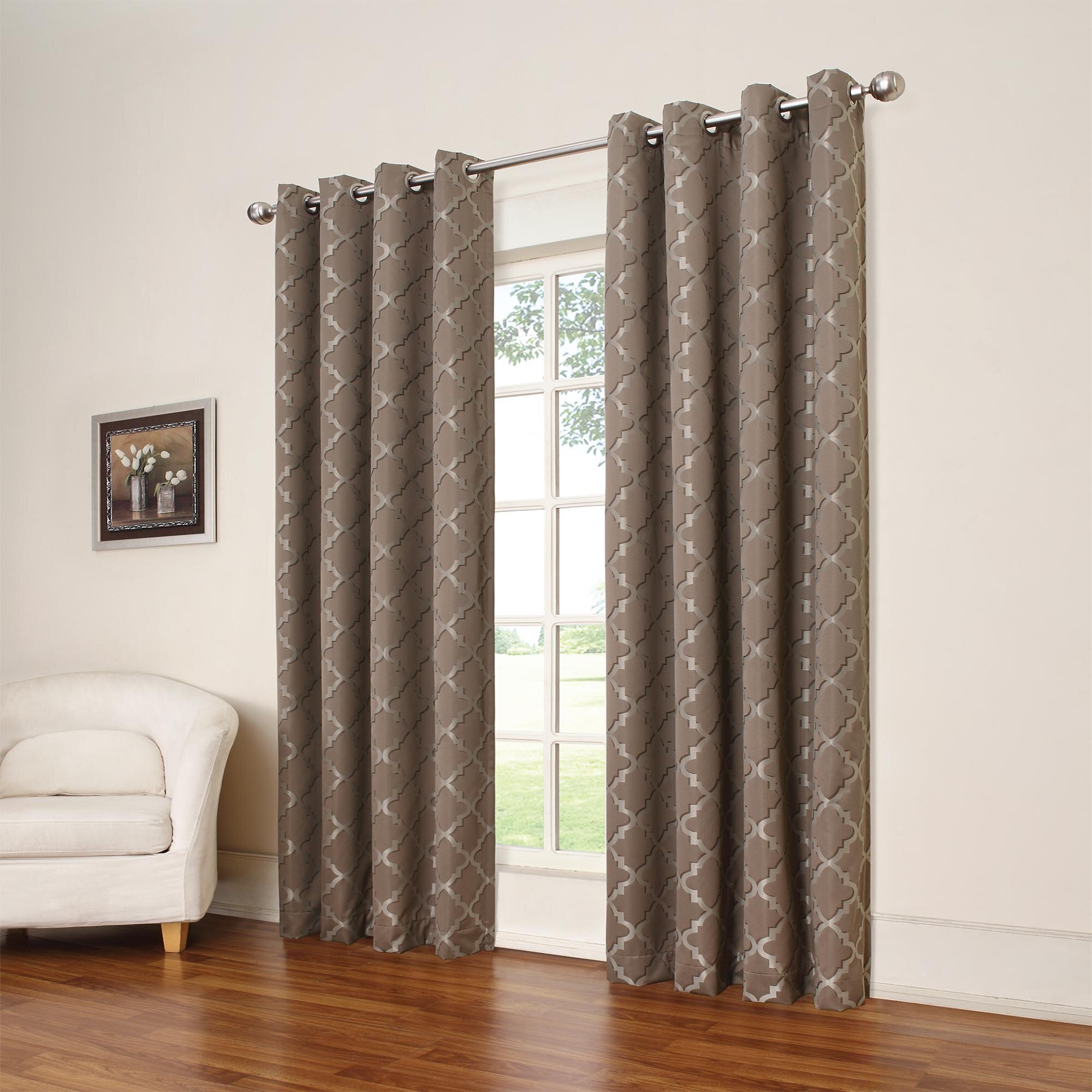 Navy curtains blackout - Quick View