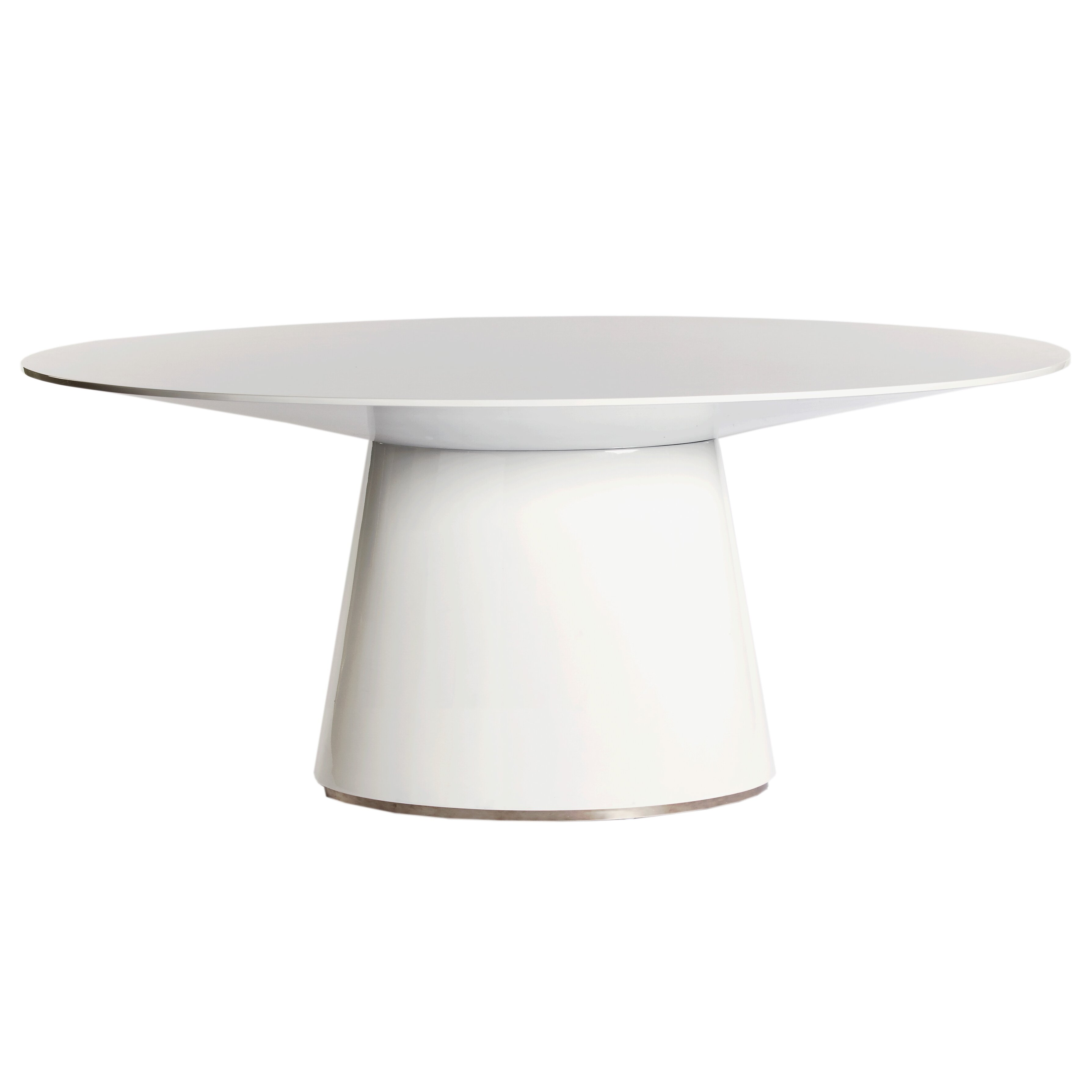 Kitchen Table Bases For Granite Tops Modern Oval Dining Kitchen Tables Allmodern