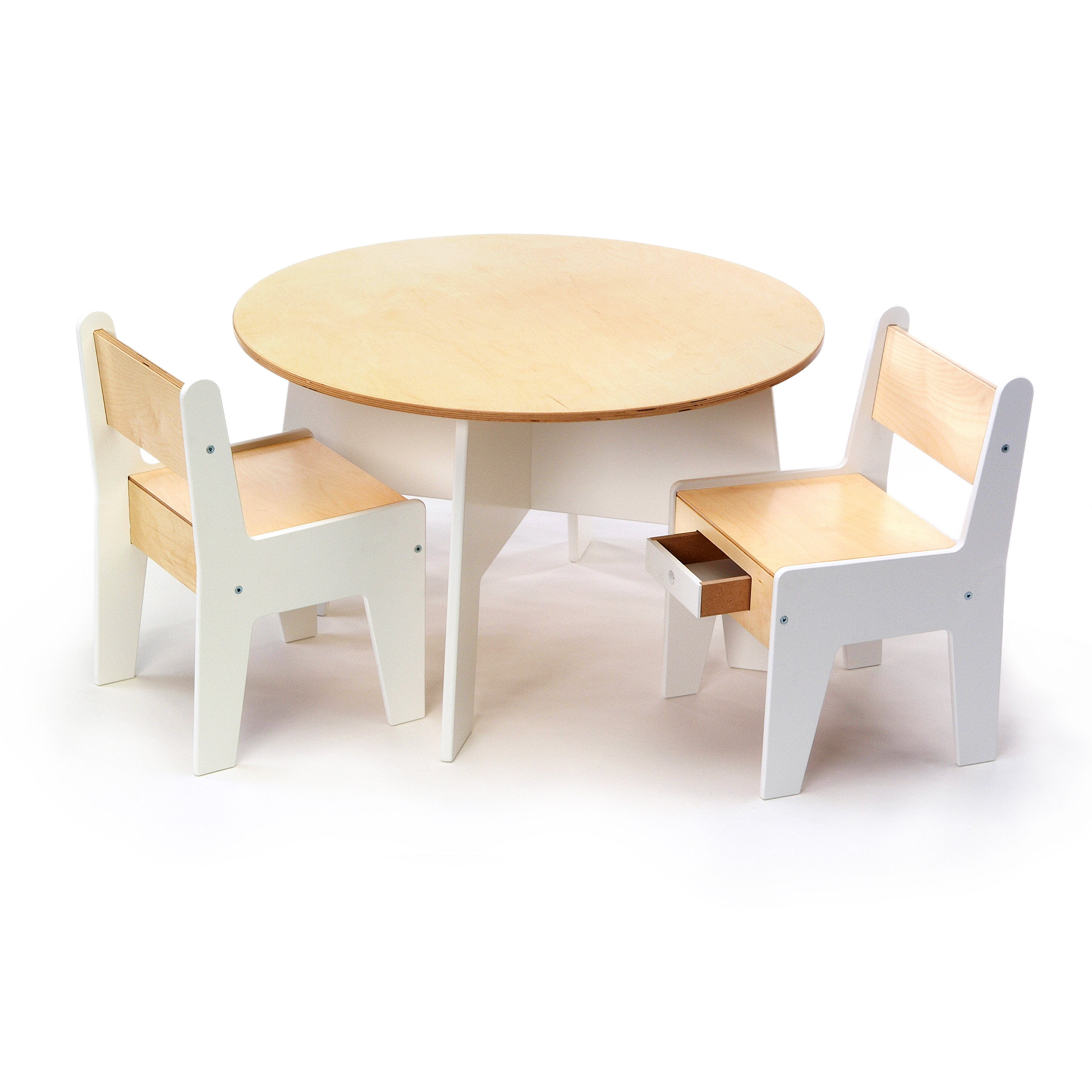 round kids table and chairs  starrkingschool - offi kids play a round table reviews wayfair