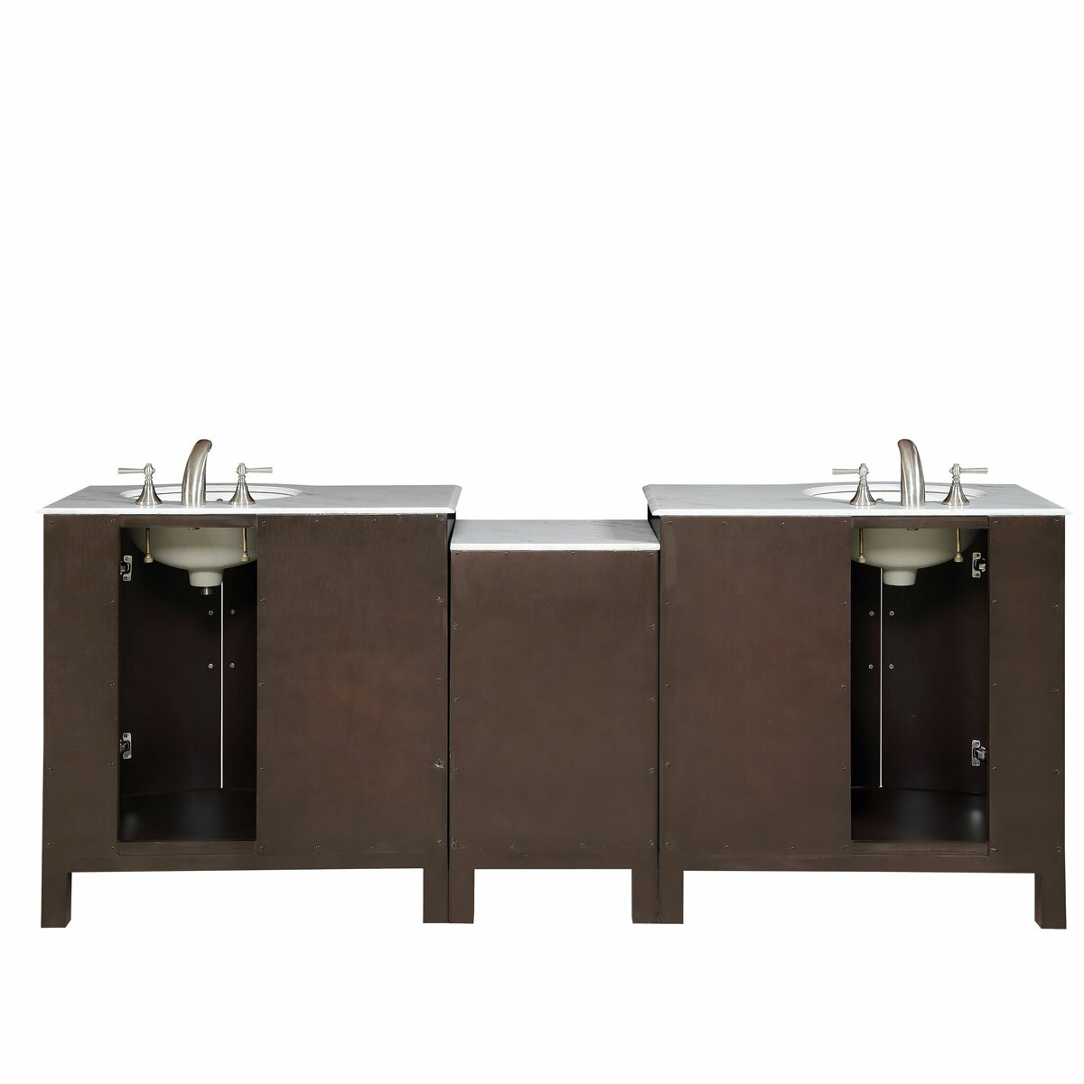 double lavatory sink cabinet bathroom vanity set reviews wayfair