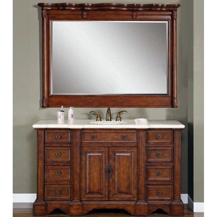 exclusive sabina 58 single bathroom vanity set reviews wayfair