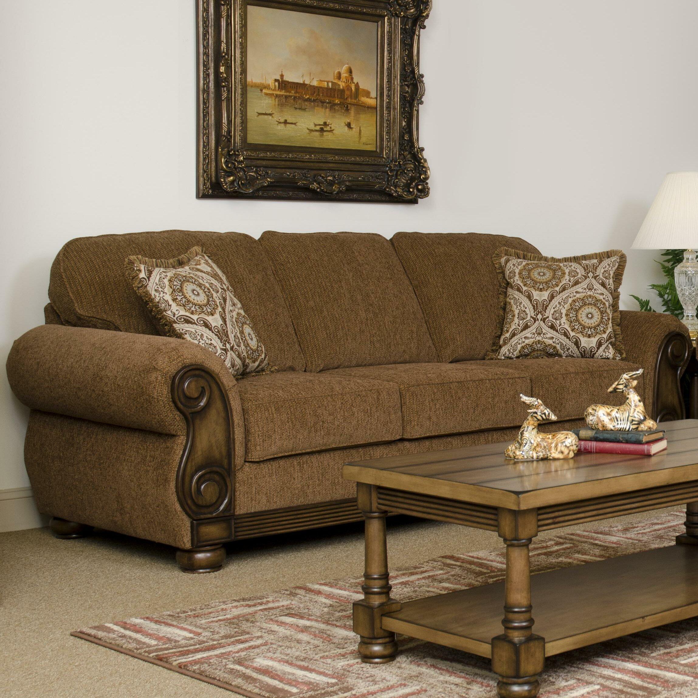 Wayfair Living Room Furniture Serta Upholstery Sofa Reviews Wayfair