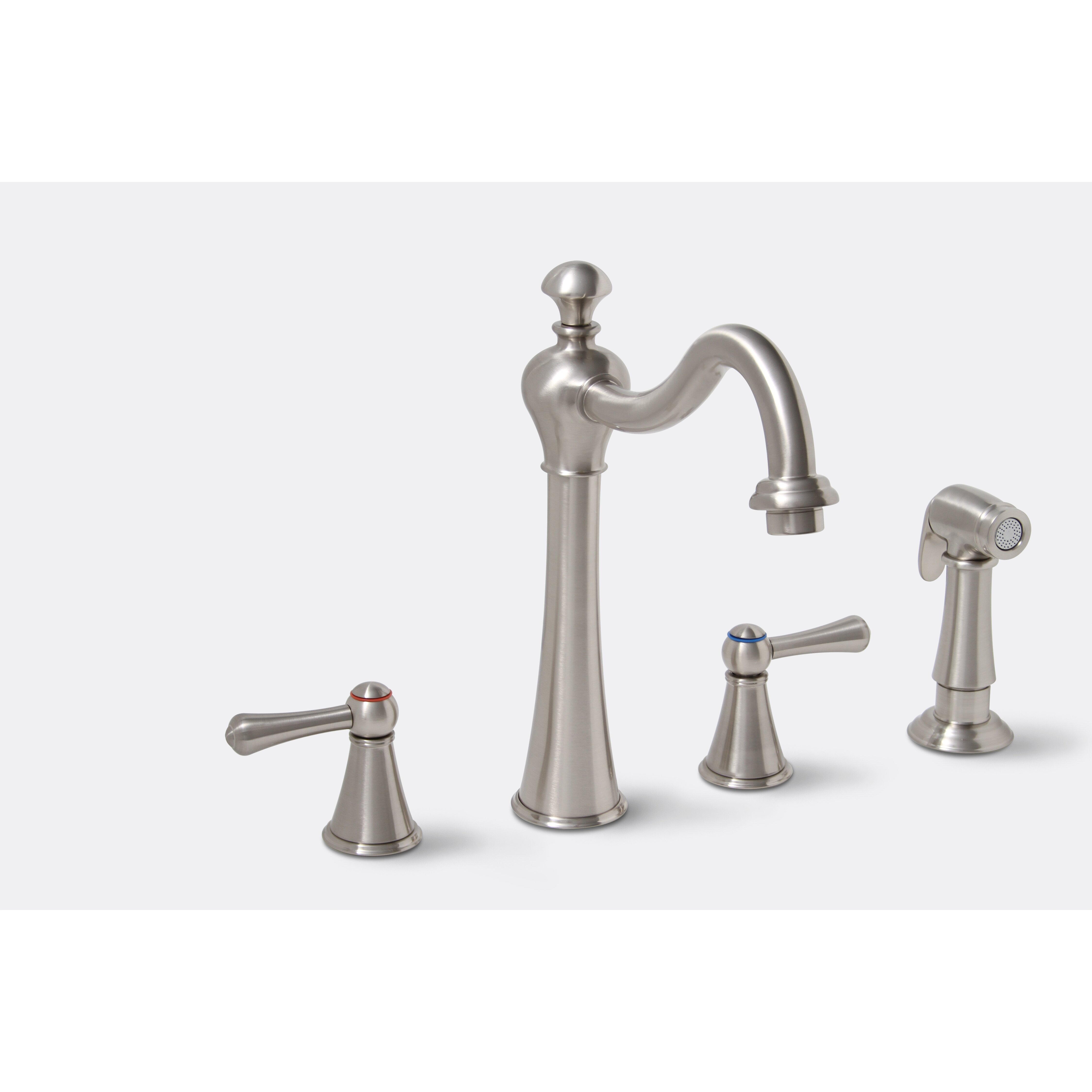 Two Handle Kitchen Faucet: Premier Faucet Sonoma Two Handle Widespread Kitchen Faucet