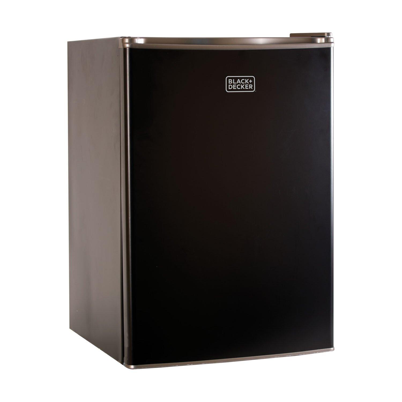 5 0 Cu Ft Mini Fridge: Black & Decker 2.5 Cu. Ft. Compact Refrigerator & Reviews