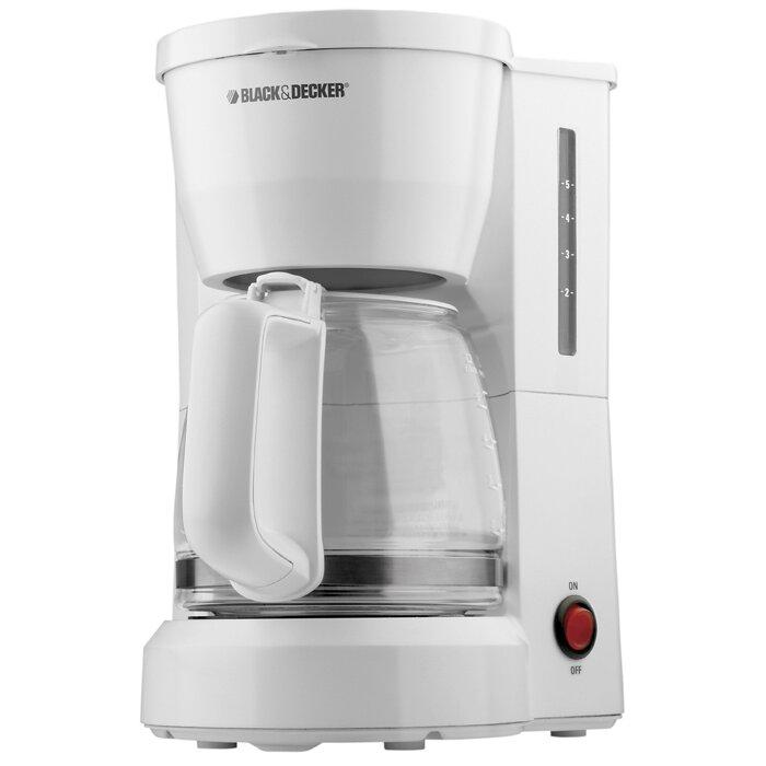 Black And Decker Coffee Maker Spring : Black & Decker 5 Cup Coffee Maker & Reviews Wayfair