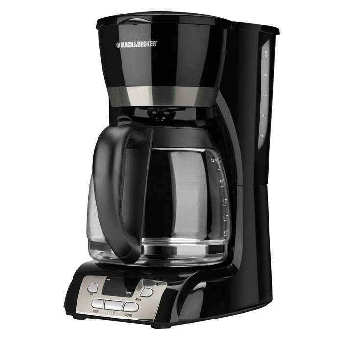 Black And Decker Coffee Maker Not Heating : Black & Decker 12 Cup Coffee Maker with Programmable Clock & Reviews Wayfair
