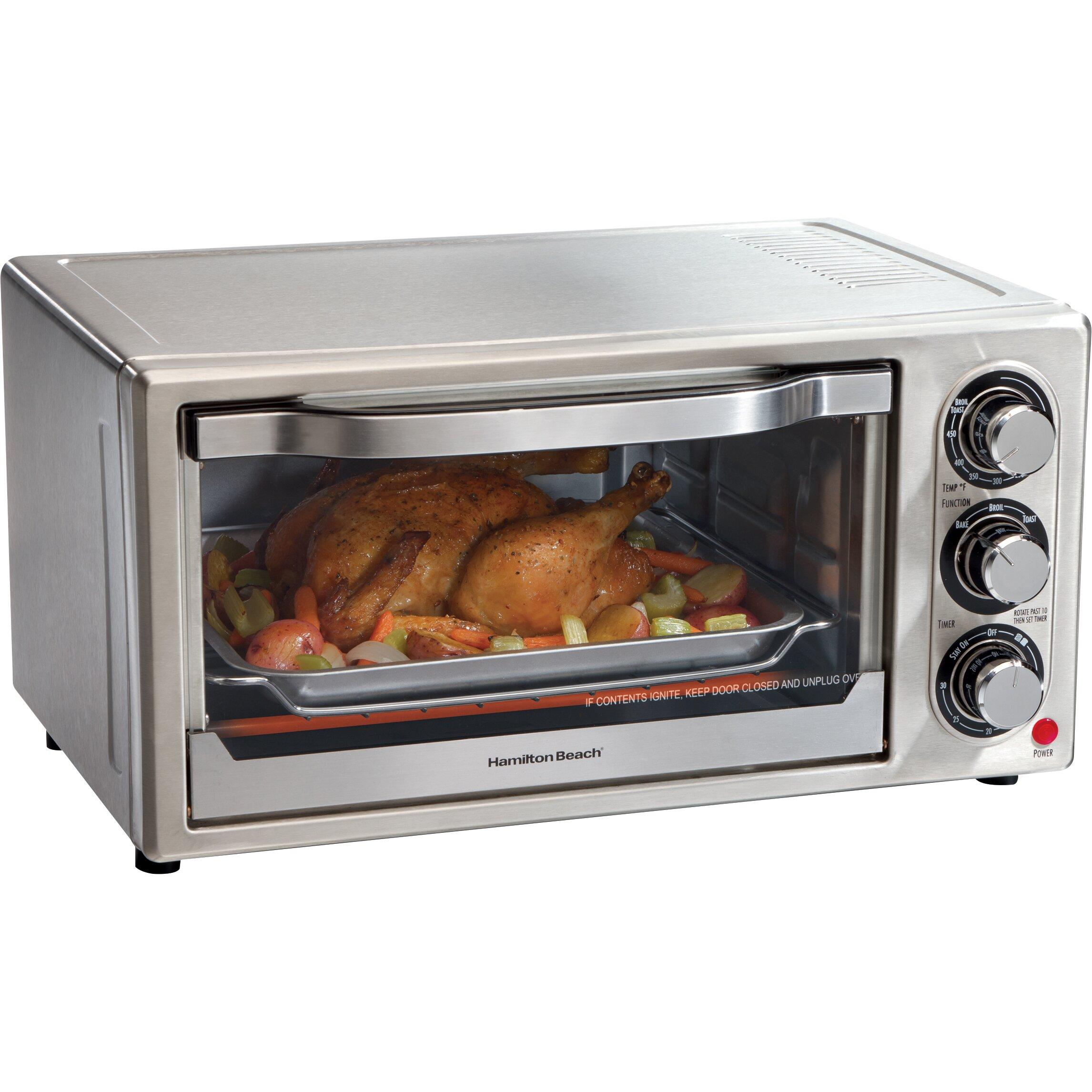 Under the cabinet toaster oven - Hamilton Beach Toaster Oven