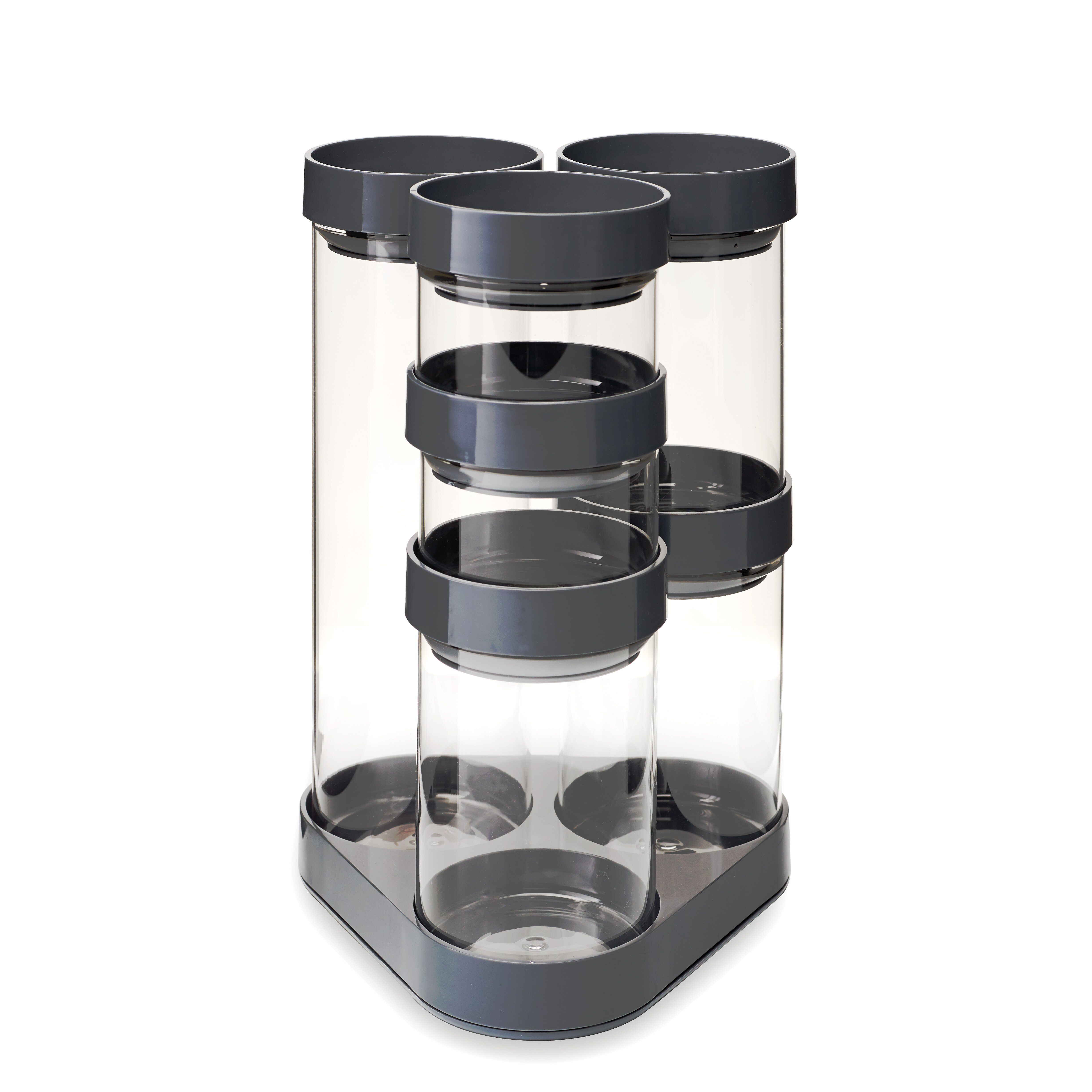 black kitchen canister sets ktvk us joseph joseph 6 piece kitchen canister set reviews wayfair