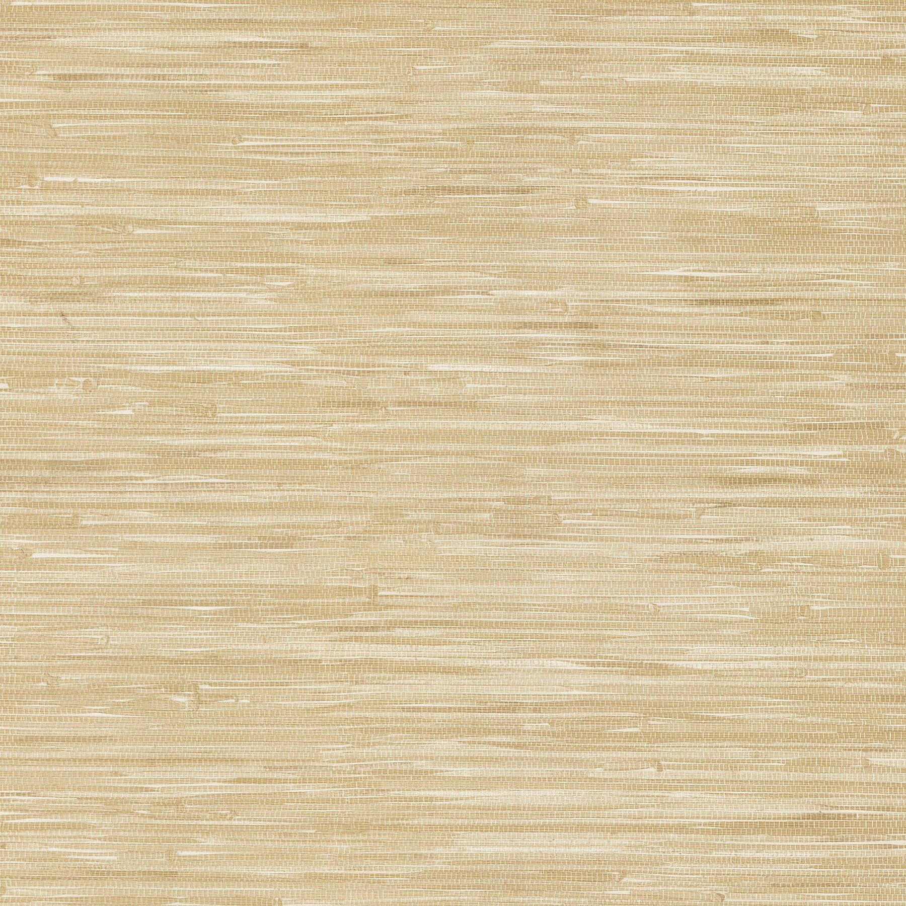 Brewster Home Fashions Liu 33u0027 x 20.5 Vinyl Grasscloth Wallpaper