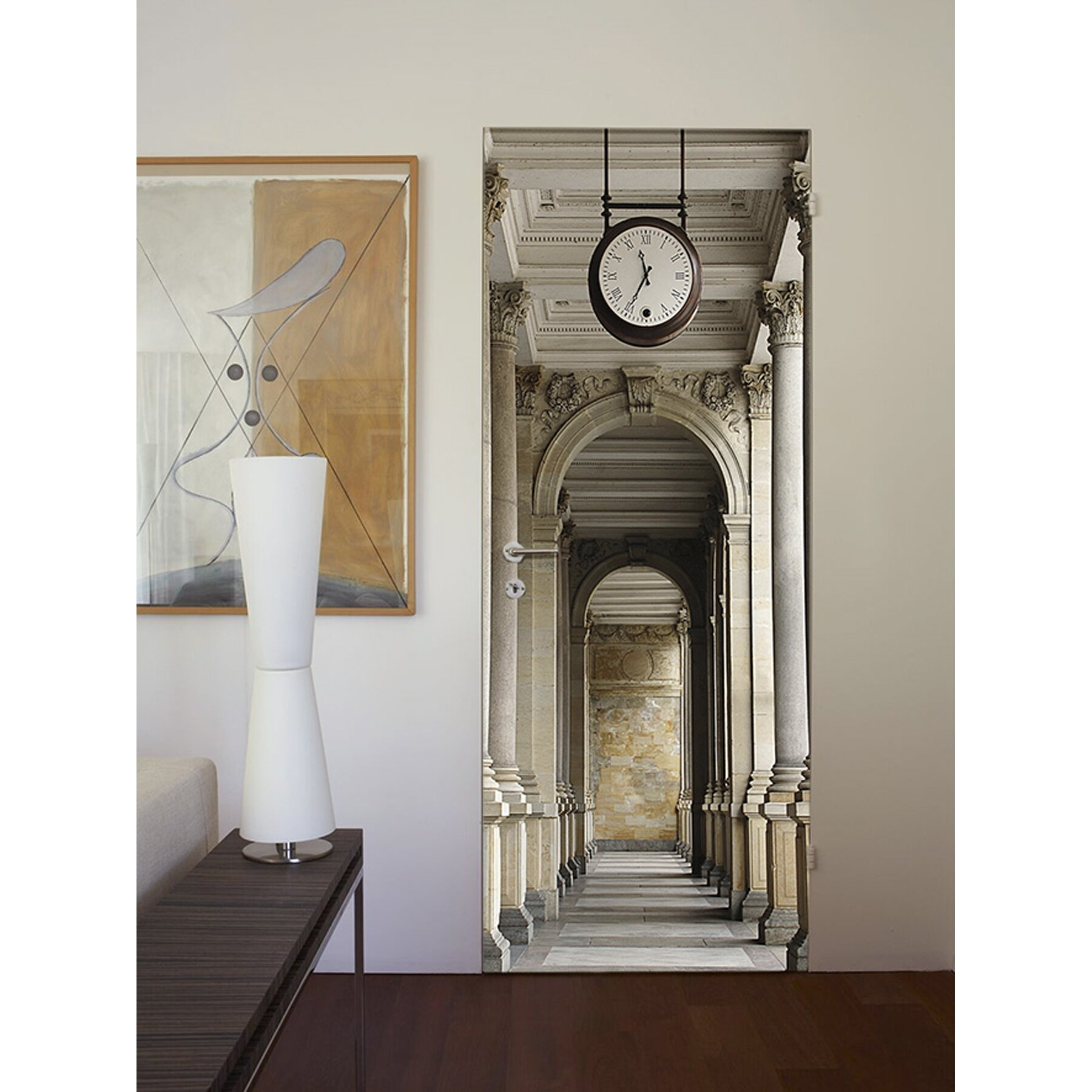 brewster home fashions ideal decor passageway wall mural brewster home fashions ideal d 233 cor cinque terre coast wall