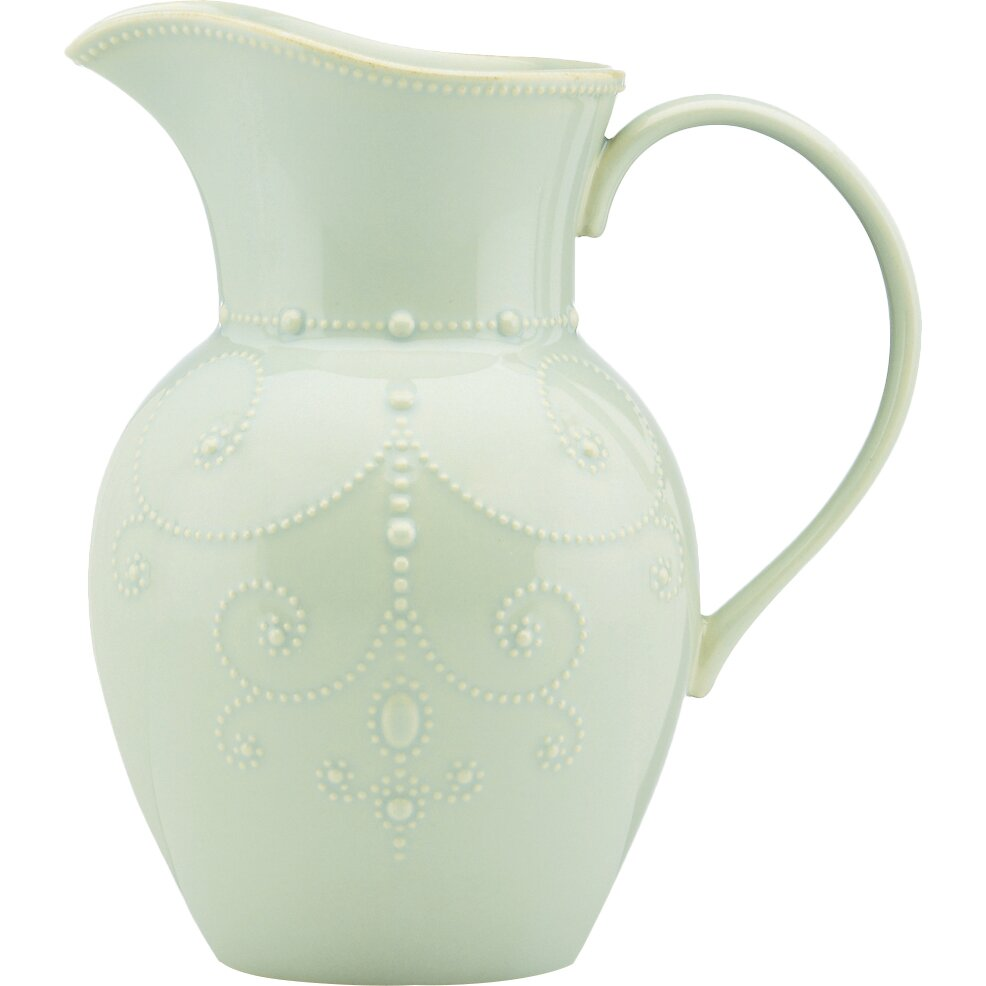 Lenox French Perle Ice 78 Oz Pitcher Amp Reviews Wayfair