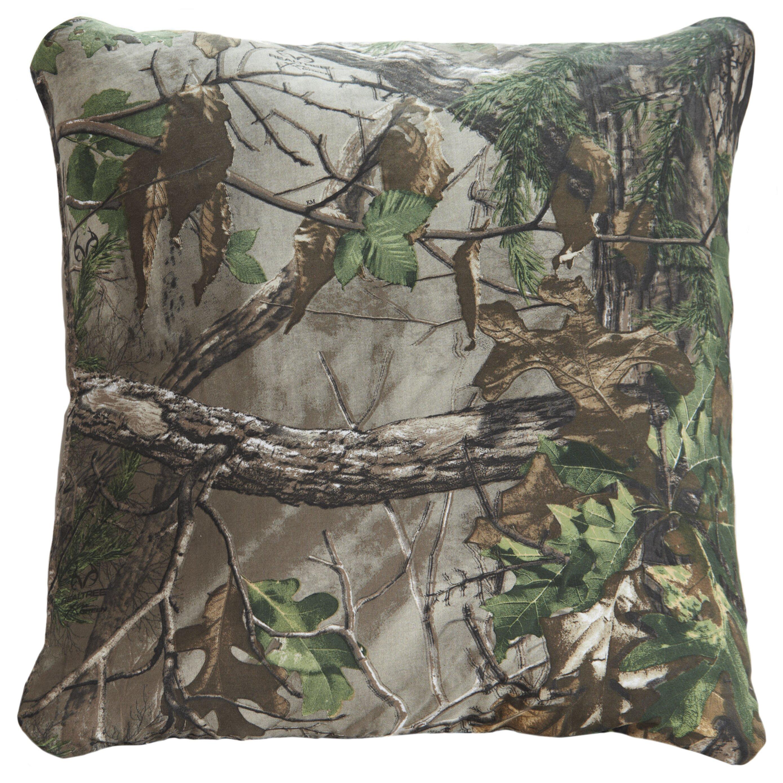 Realtree Realtree Xtra Throw Pillow & Reviews | Wayfair - Realtree Bedding Realtree Xtra Throw Pillow
