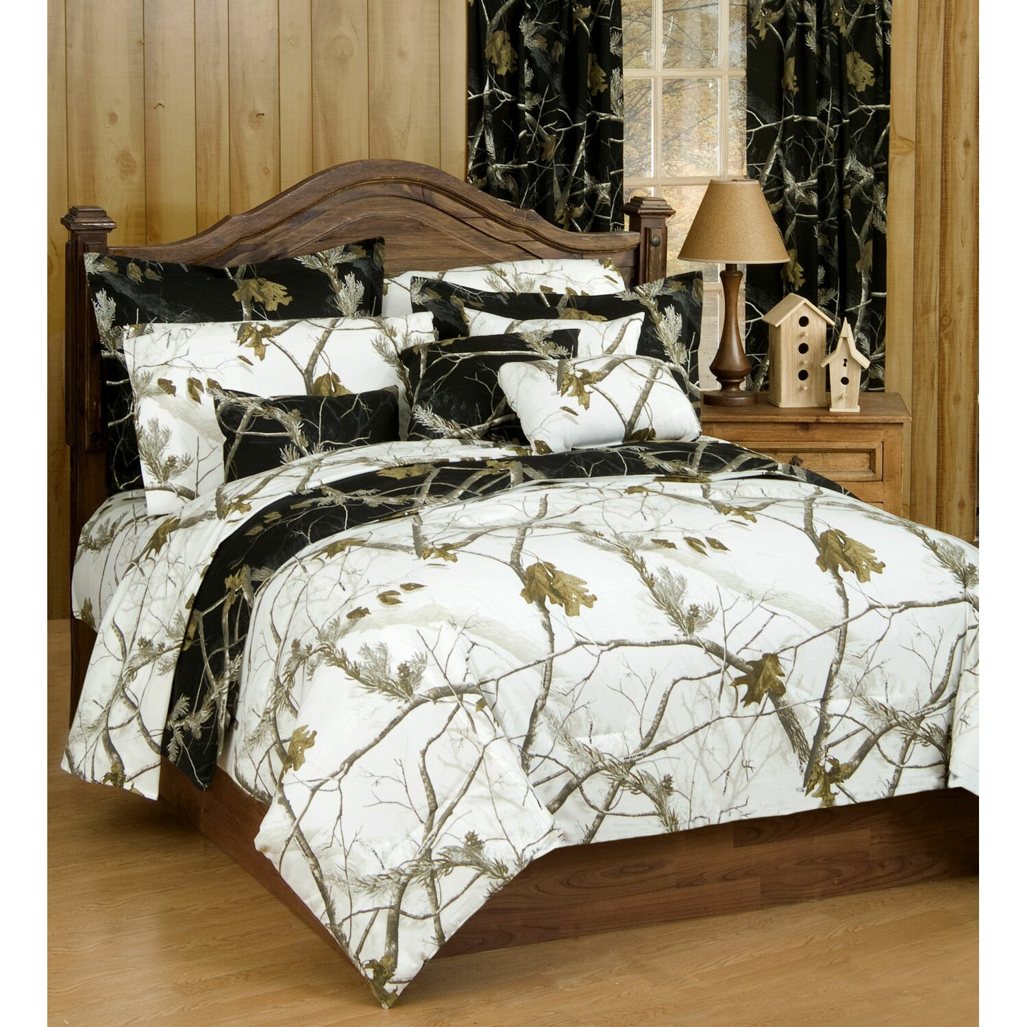Camouflage Bedroom Sets: Realtree Camo Comforter Collection & Reviews