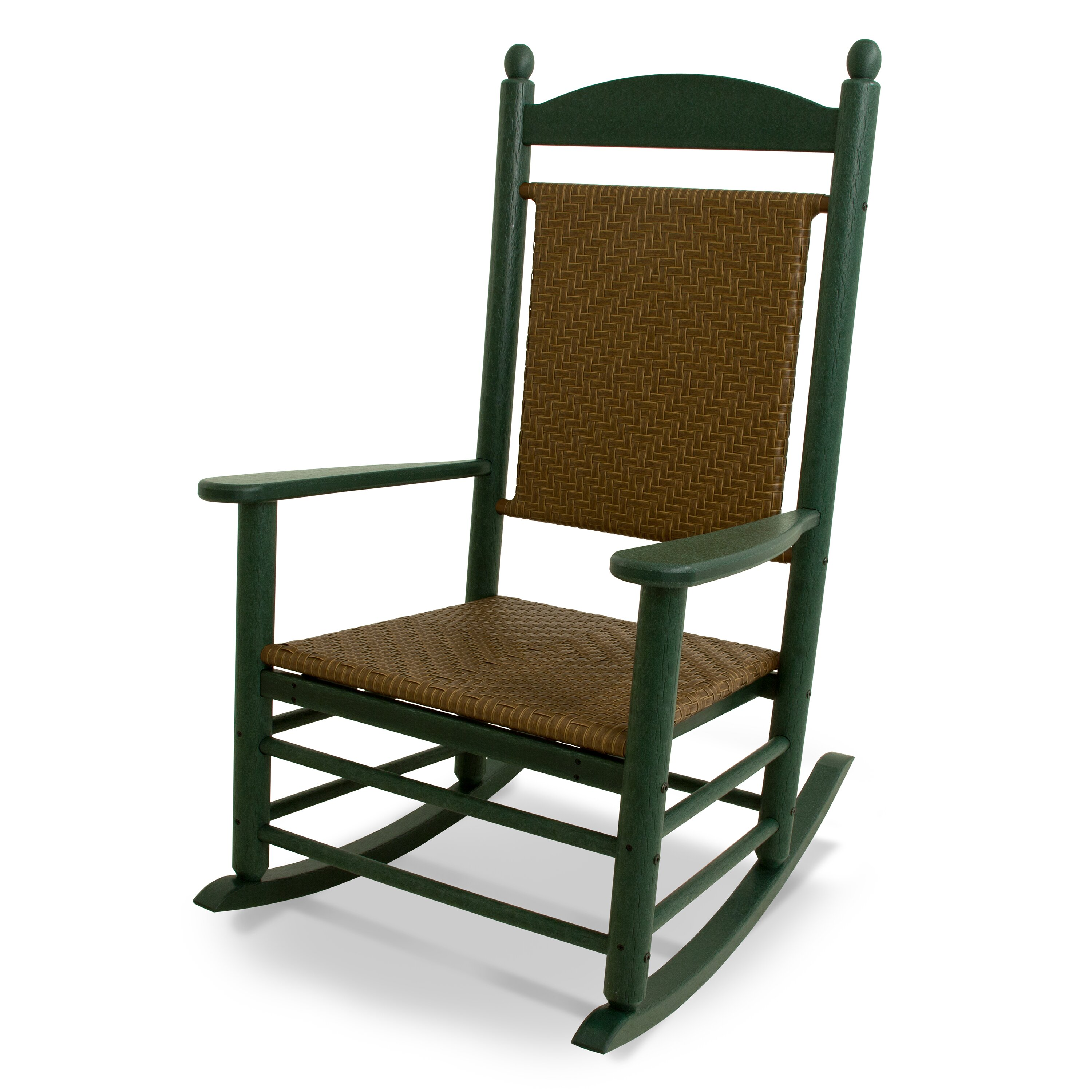 POLYWOOD® Kennedy Presidential Rocking Chair & Reviews  Wayfair