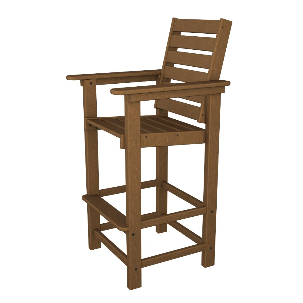 Polywood 174 Captain 30 Quot Bar Stool Amp Reviews Wayfair