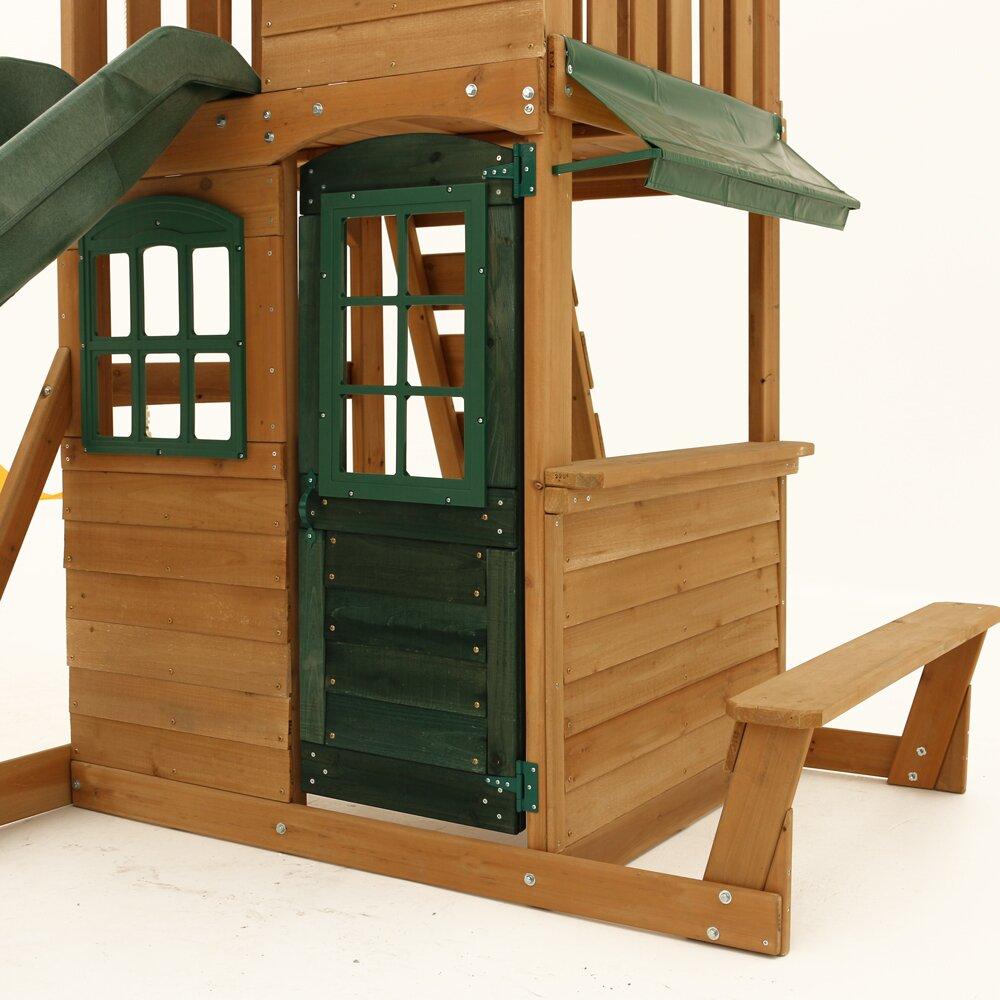 Big Backyard Windale Wooden Swing Set & Reviews