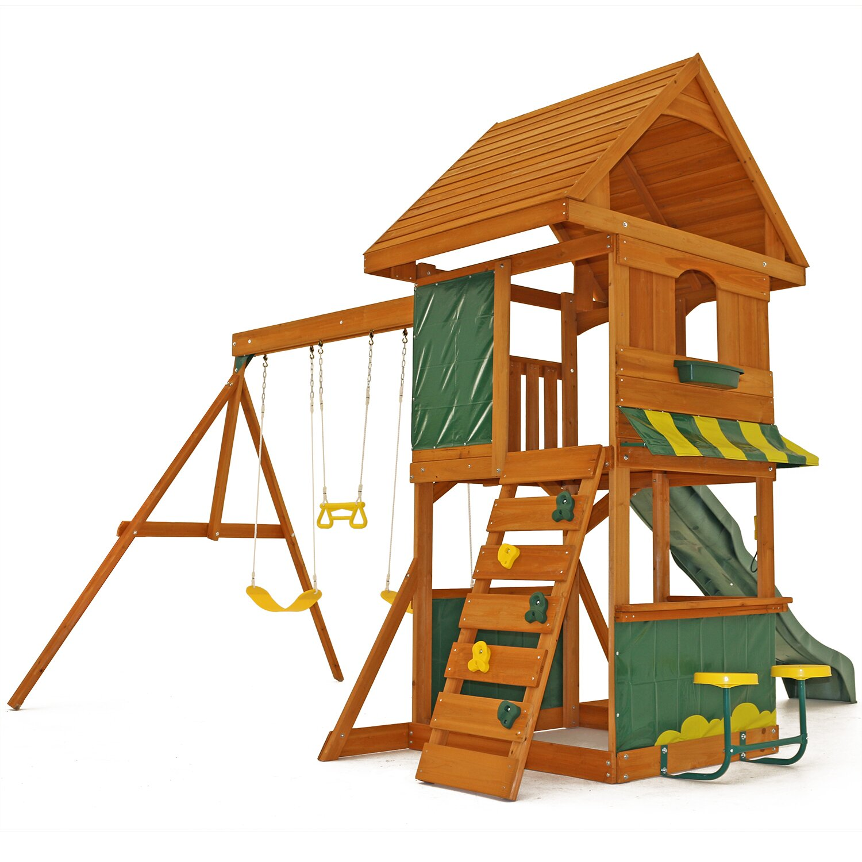 Big Backyard Magnolia Wooden Swing Set & Reviews