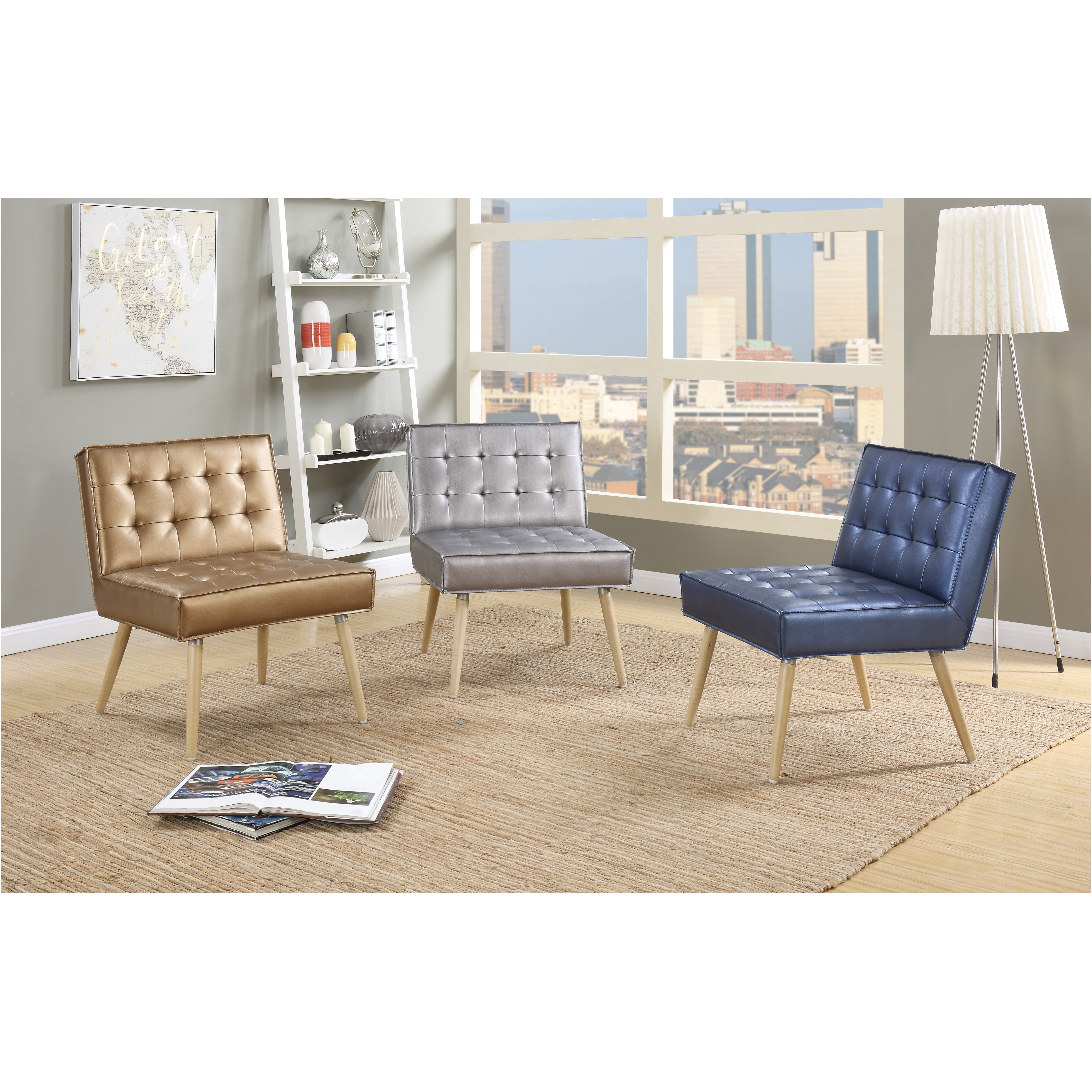 ave six amity tufted side chair - Side Chairs For Living Room