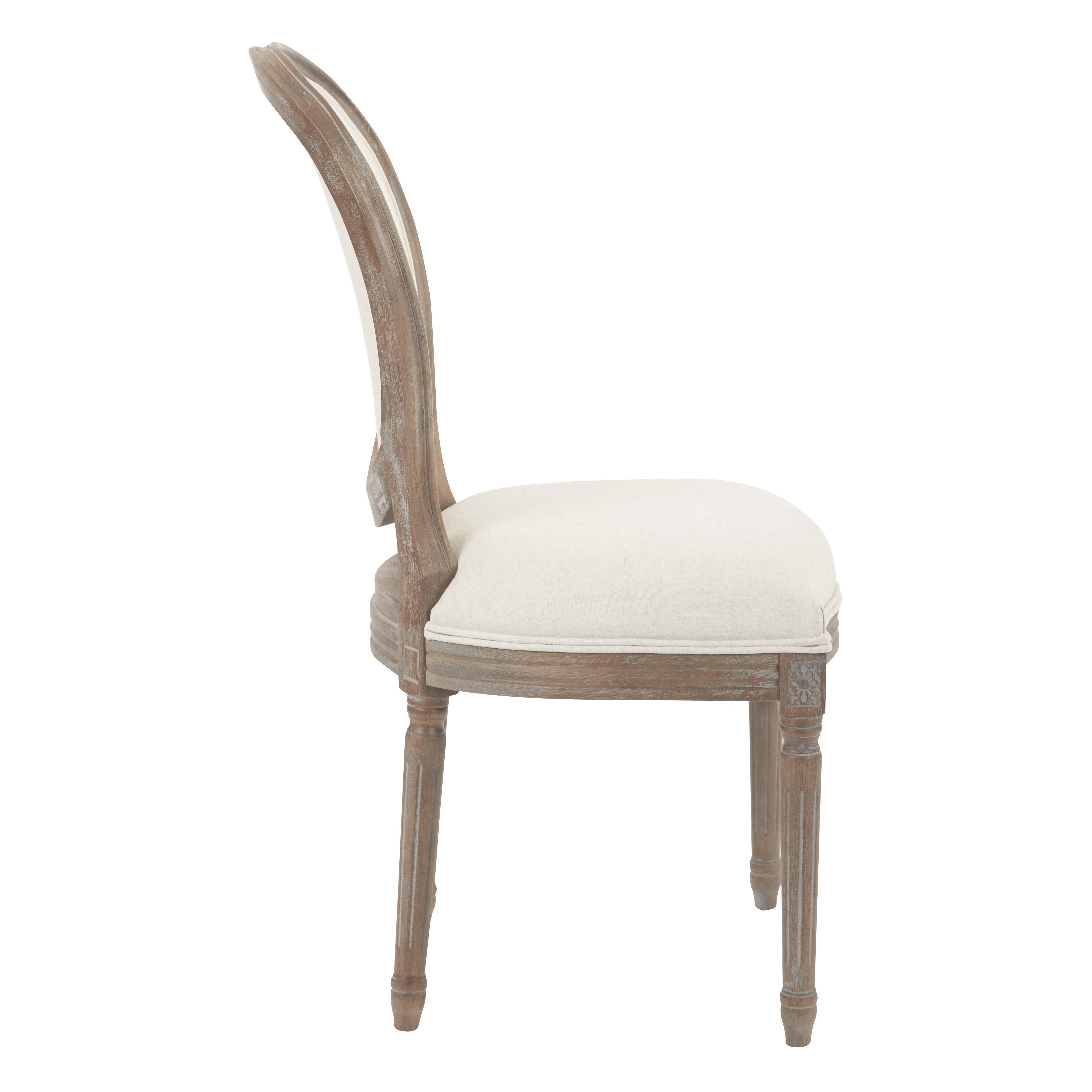 Ave Six Lilian Oval Back Dining Side Chair & Reviews