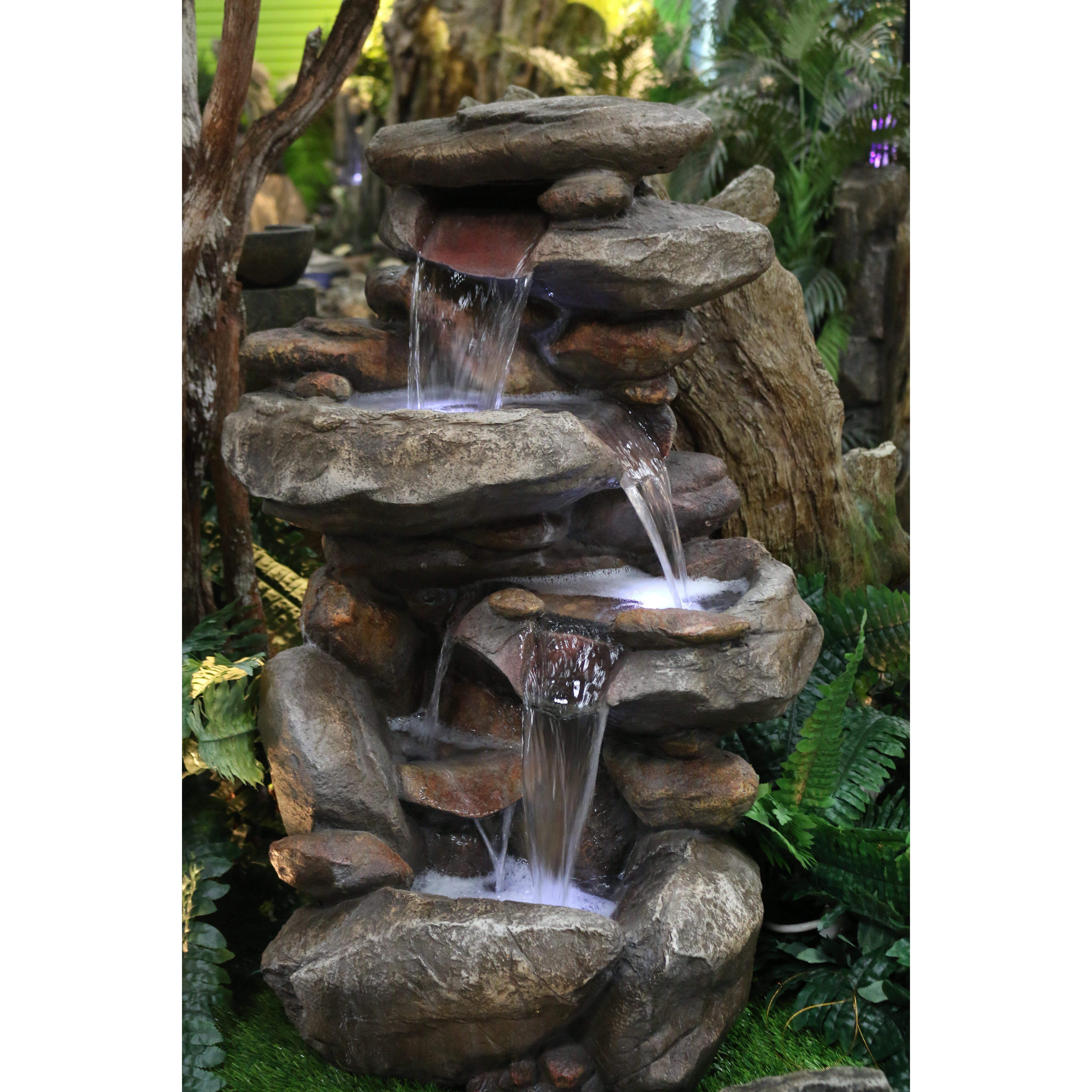 indoor floor water fountain