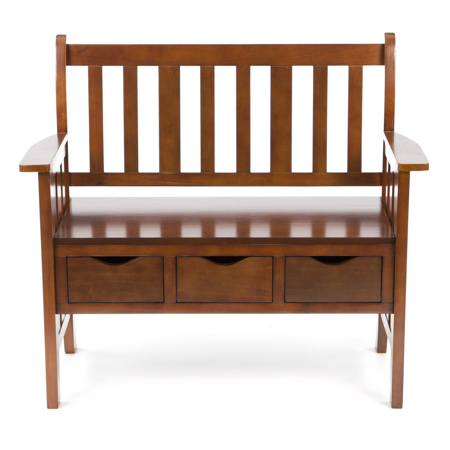 Amazing photo of  Home ® Davidson Storage Wood Entryway Bench & Reviews Wayfair with #734124 color and 1440x1440 pixels