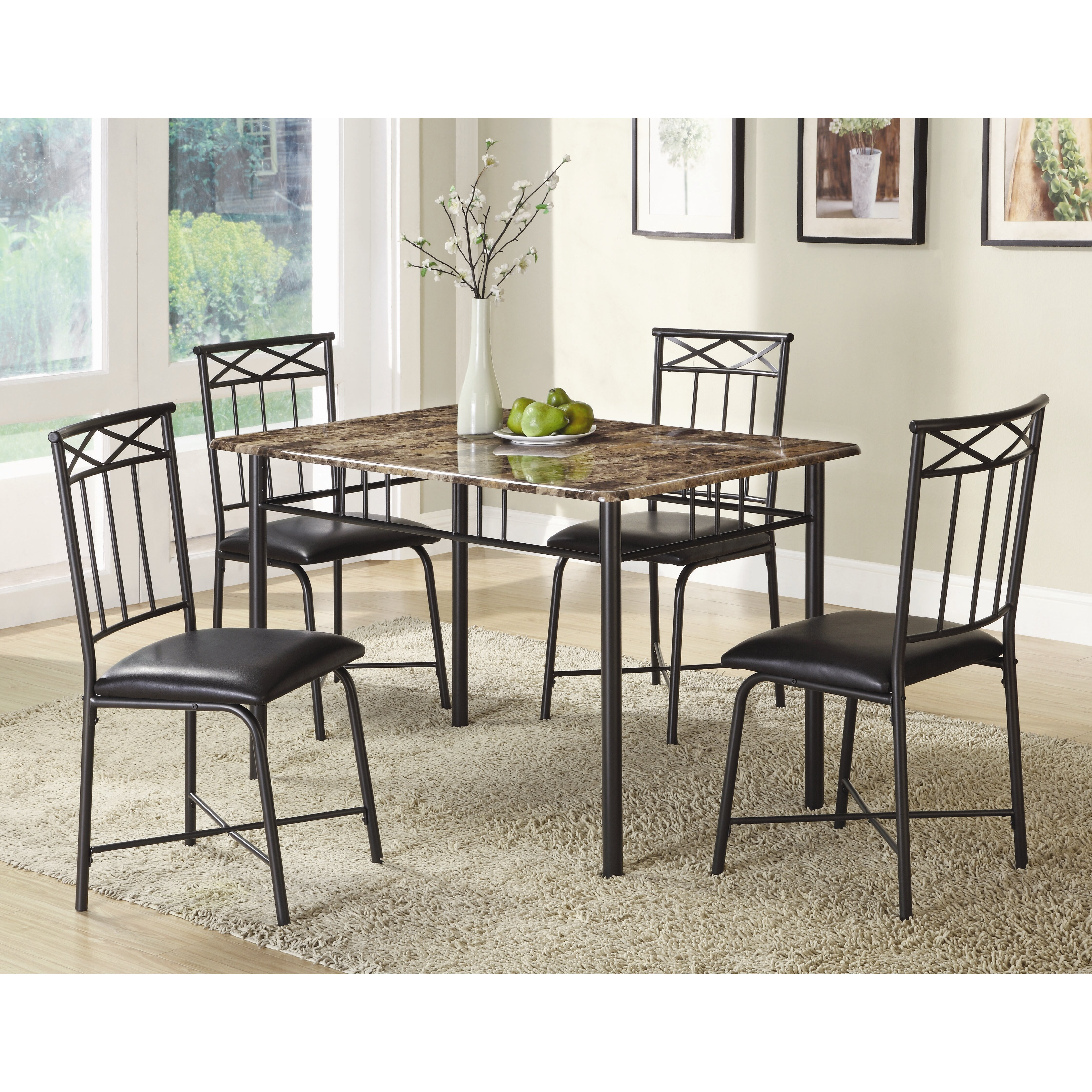 Wildon home little elm 5 piece dining set for Wildon home dining