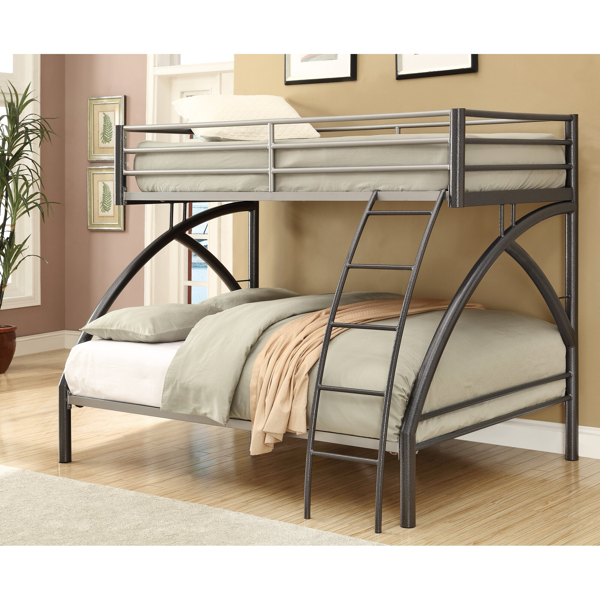 Wildon Home Twin over Full Bunk Bed & Reviews