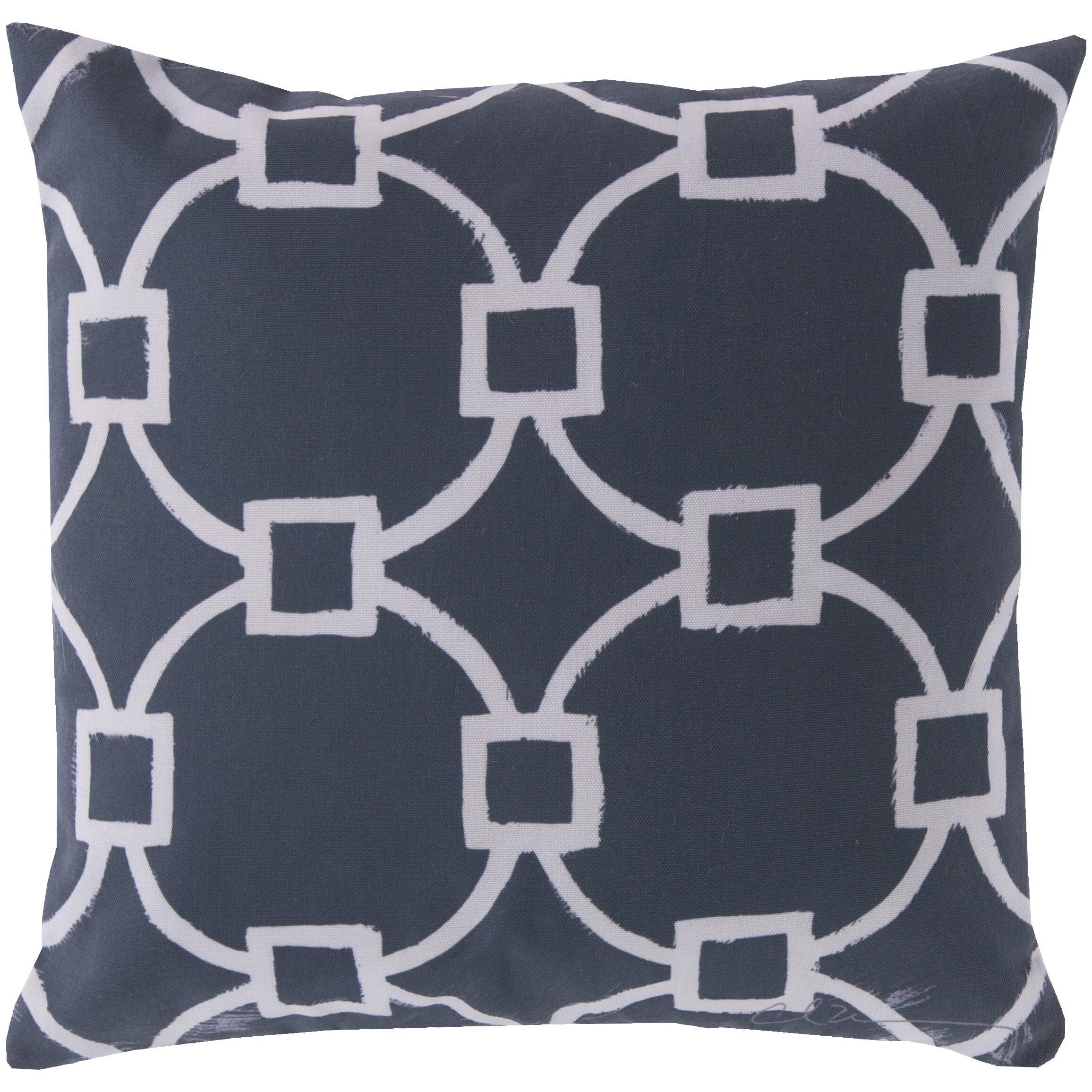 glamorously geometric throw pillow  reviews  allmodern - wildon home reg glamorously geometric throw pillow