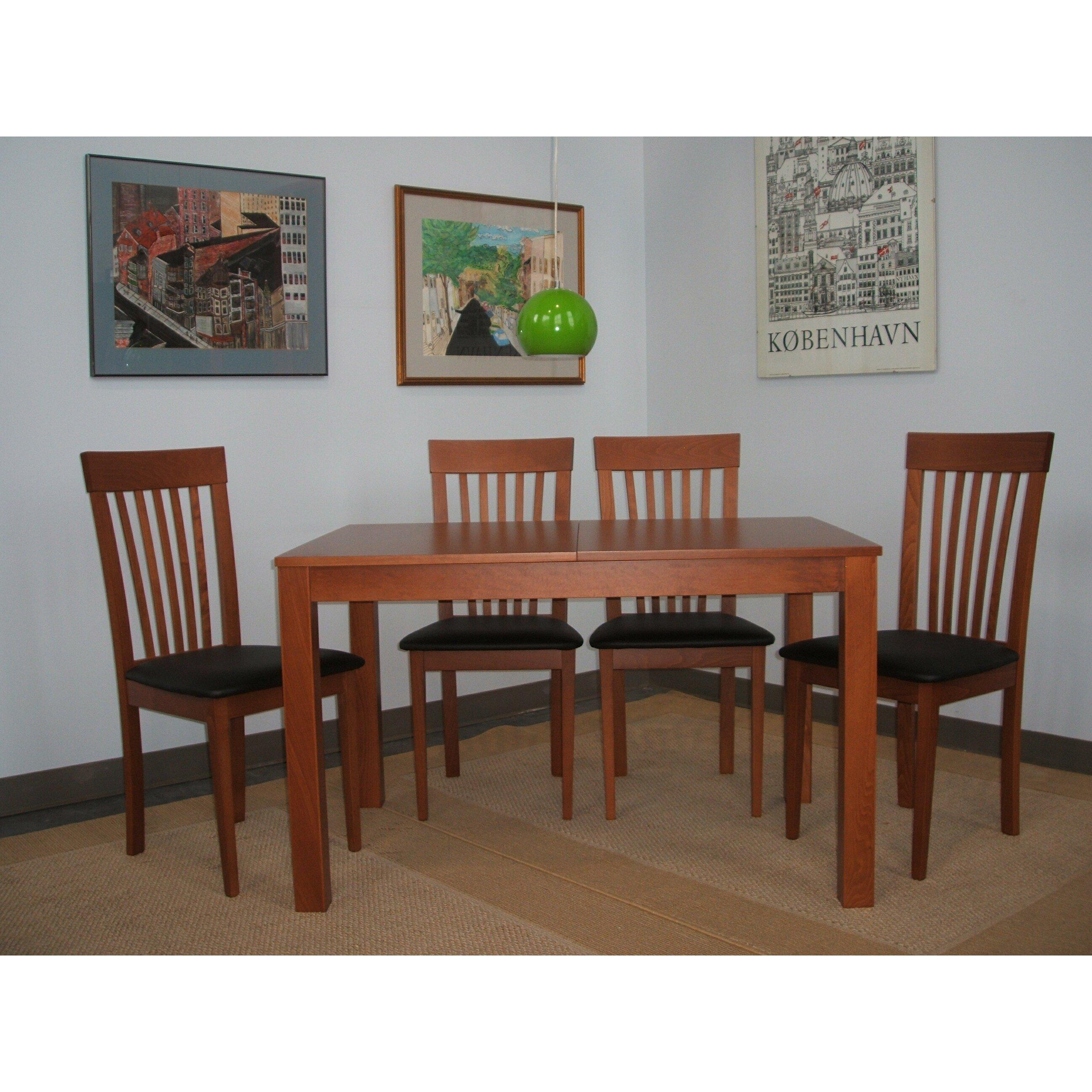 Wildon home moderna 5 piece dining set reviews for Wildon home dining