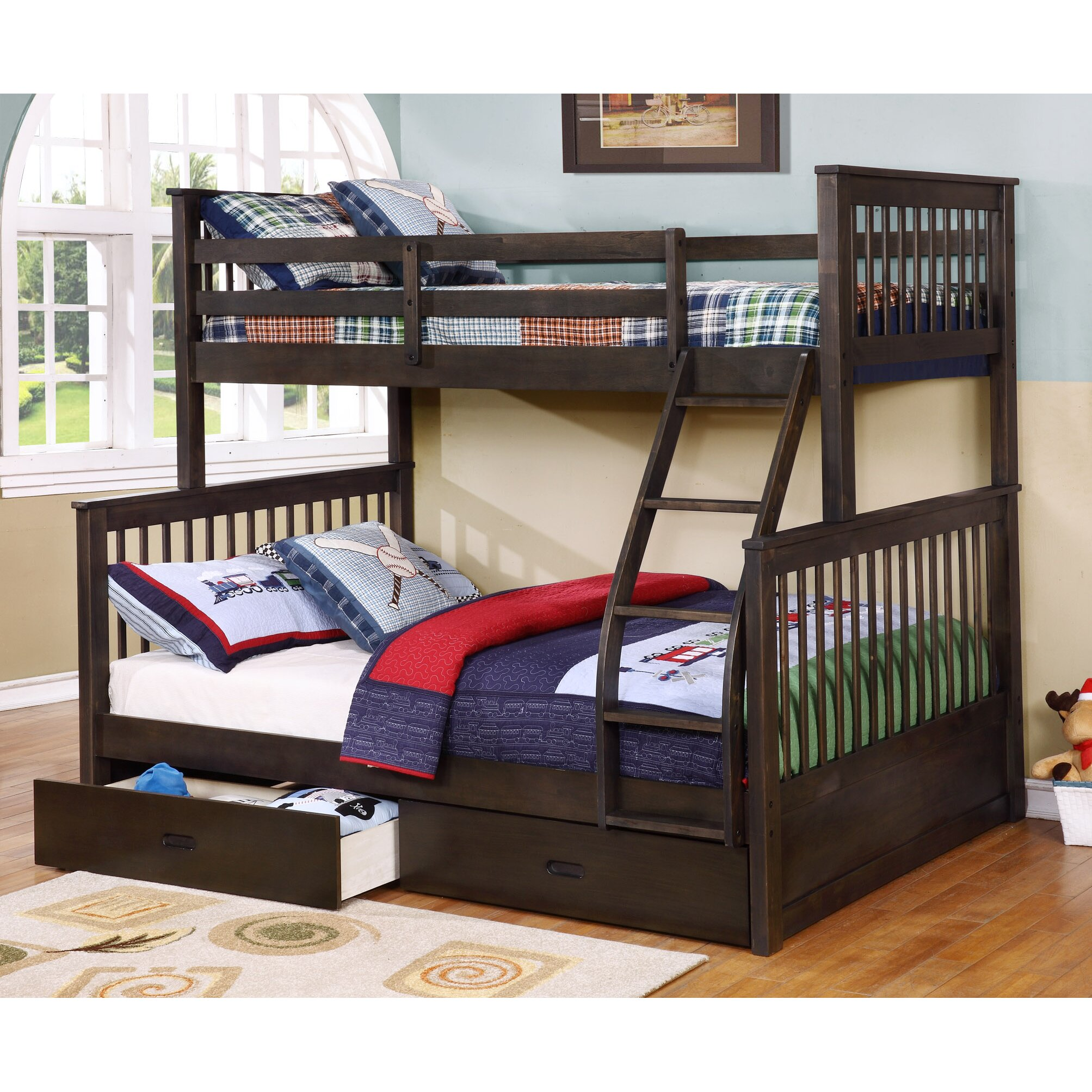 Double bunk beds with slide - Double Bunk Beds With Slide 44