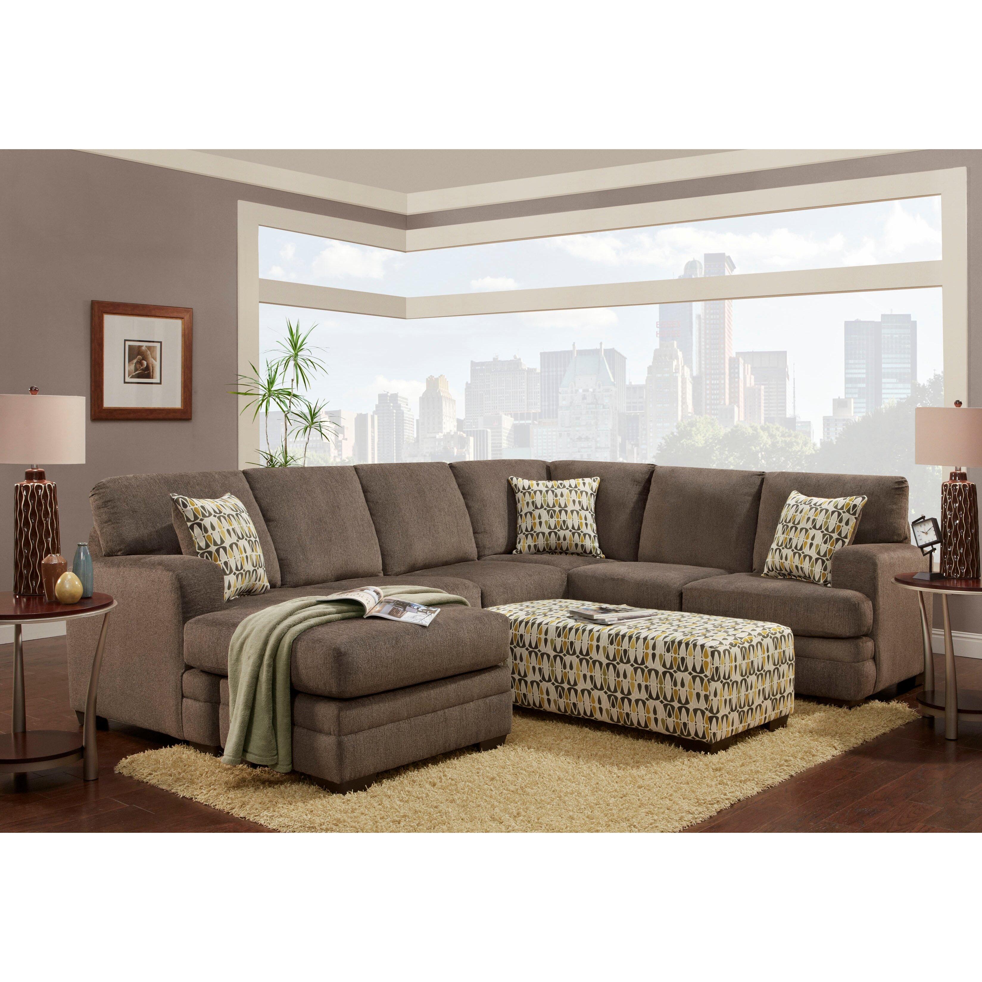 Amazing Wildon Home Bailey Microfiber Sectional Sofa Sectional Sofas