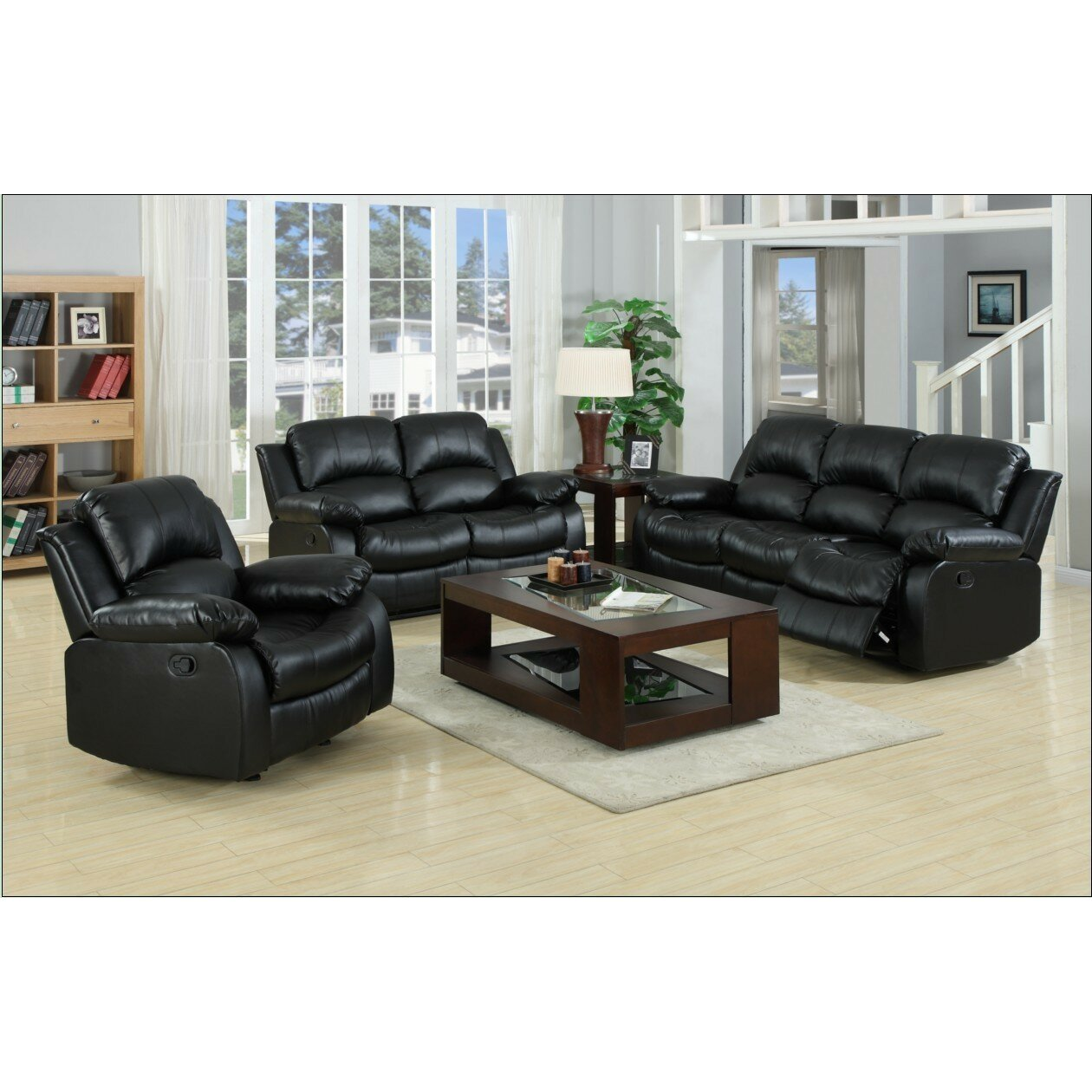 Buchannan Microfiber Sofa Multiple Colors Com Wildon Home Reg Kaden  Reclining Sofa