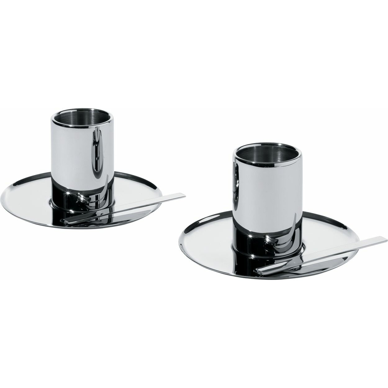 Nouvel Mocha Cup and Saucer & Reviews   AllModern - Alessi Nouvel Mocha Cup and Saucer
