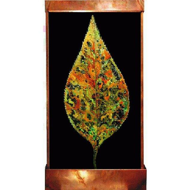 Harvey Gallery Galaxy Metal Acrylic Florentine Leaf Fountain