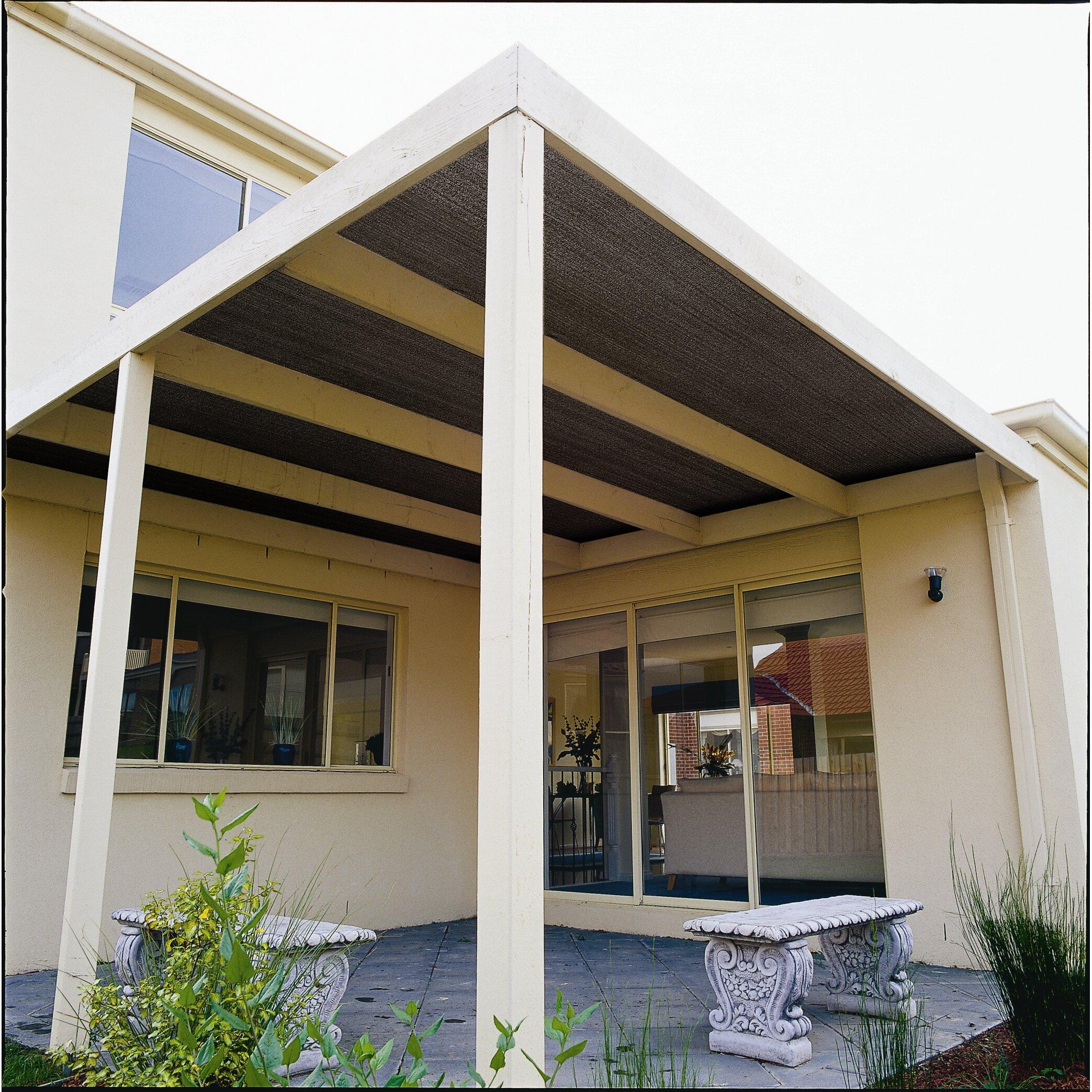 Exterior sun shades for windows - Cloth Roll 50 Uv Block Outdoor Solar Shade