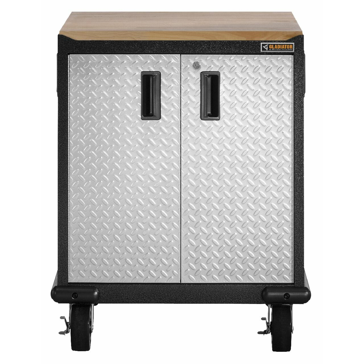 Premier Garage Cabinets #29: Gladiator 27u0026amp;quot; Maple Top For Premier Garage Cabinets