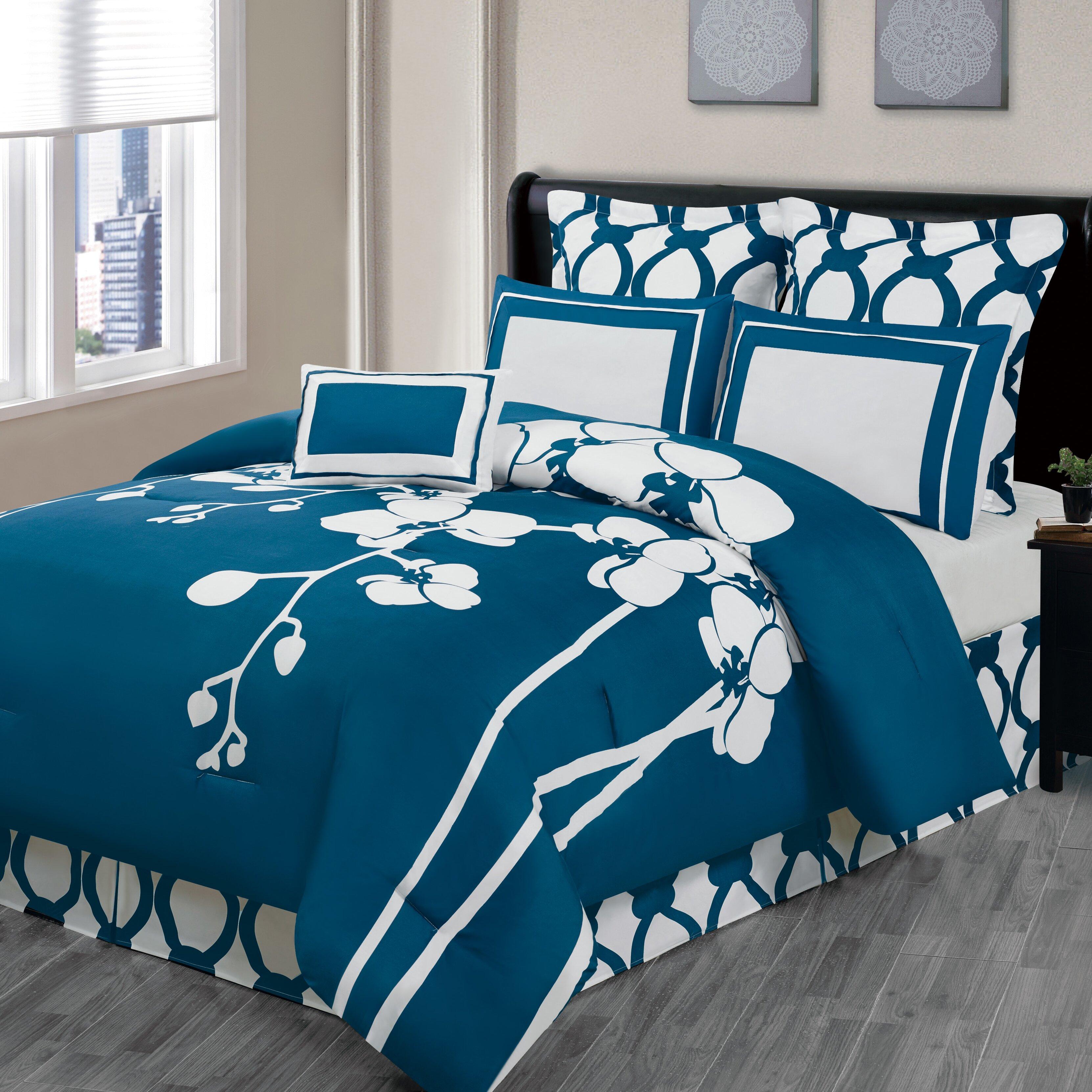 DR International April 7 Piece Reversible Comforter Set. DR International April 7 Piece Reversible Comforter Set   Reviews