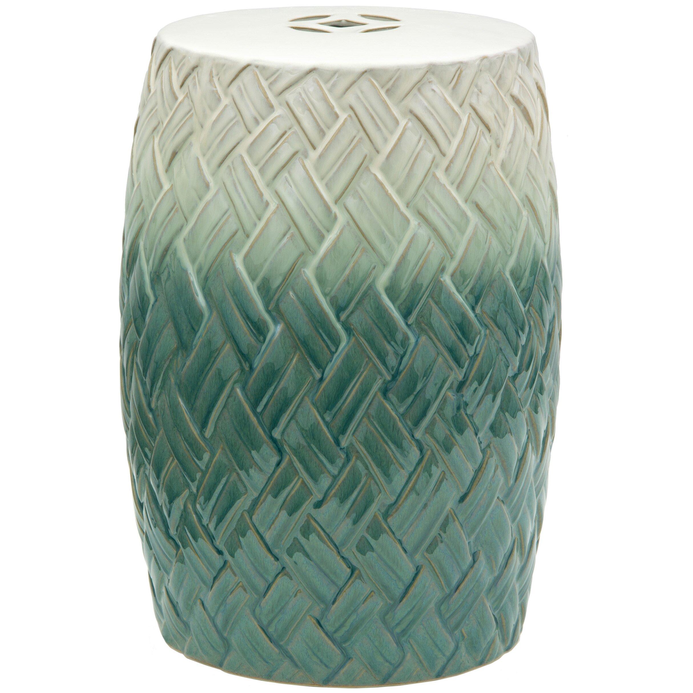 Oriental Furniture Carved Woven Design Porcelain Garden