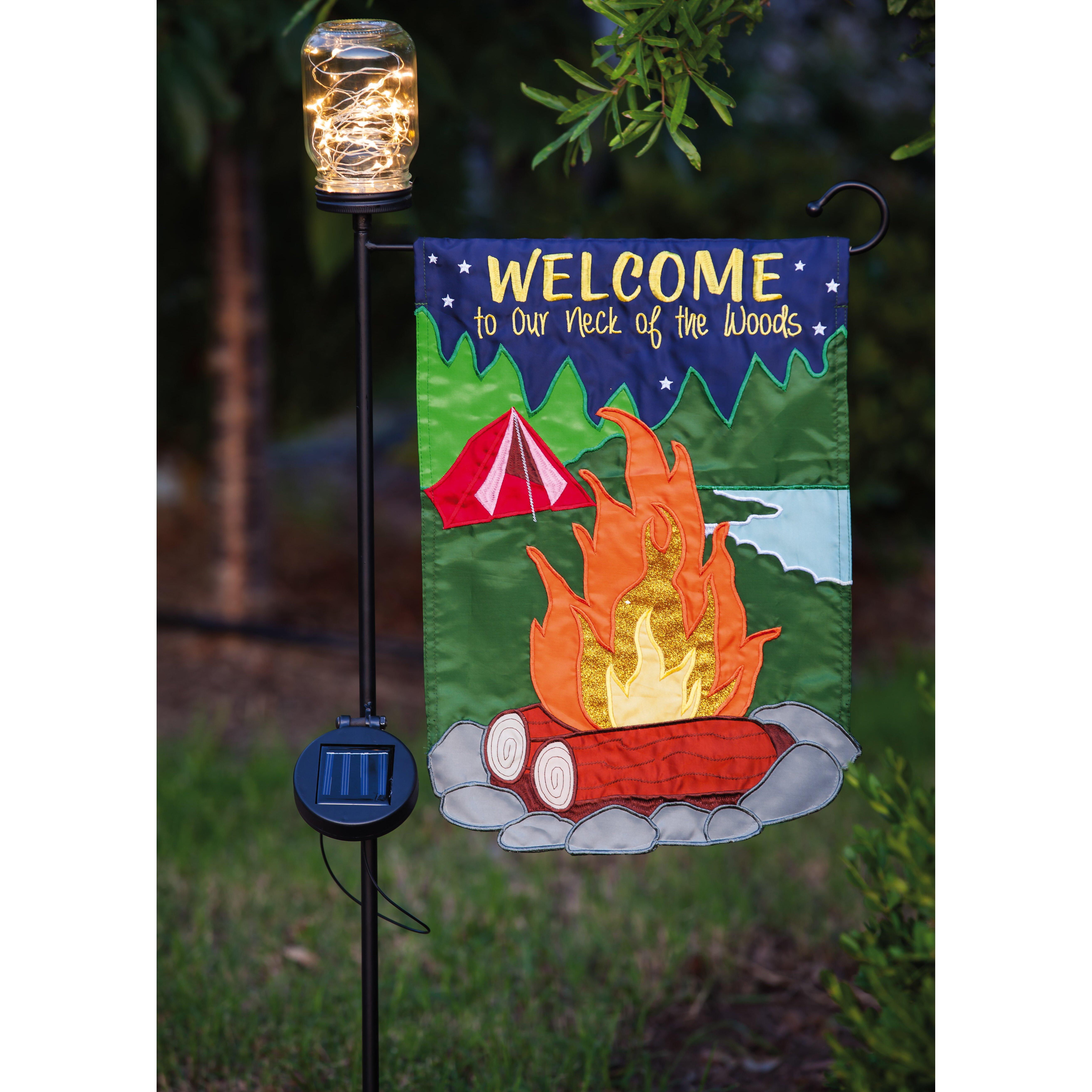 Evergreen Enterprises Inc Mason Jar Garden Flagpole Reviews