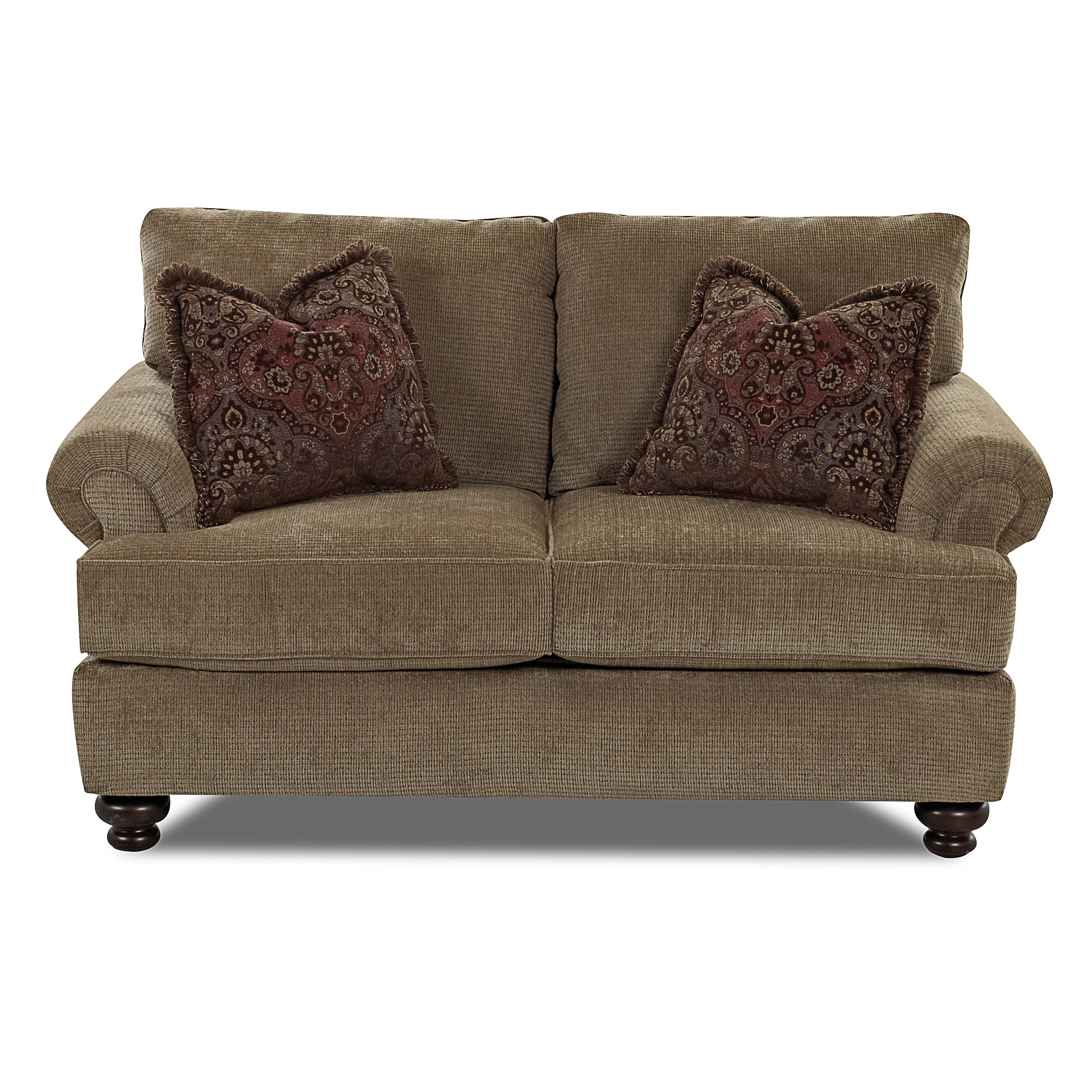 Klaussner Bedroom Furniture Klaussner Furniture Cross Loveseat Reviews Wayfair