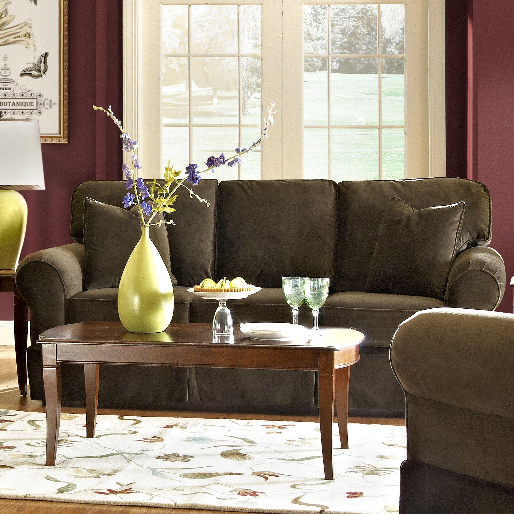 Klaussner Bedroom Furniture Klaussner Furniture Greenough Sofa Reviews Wayfair