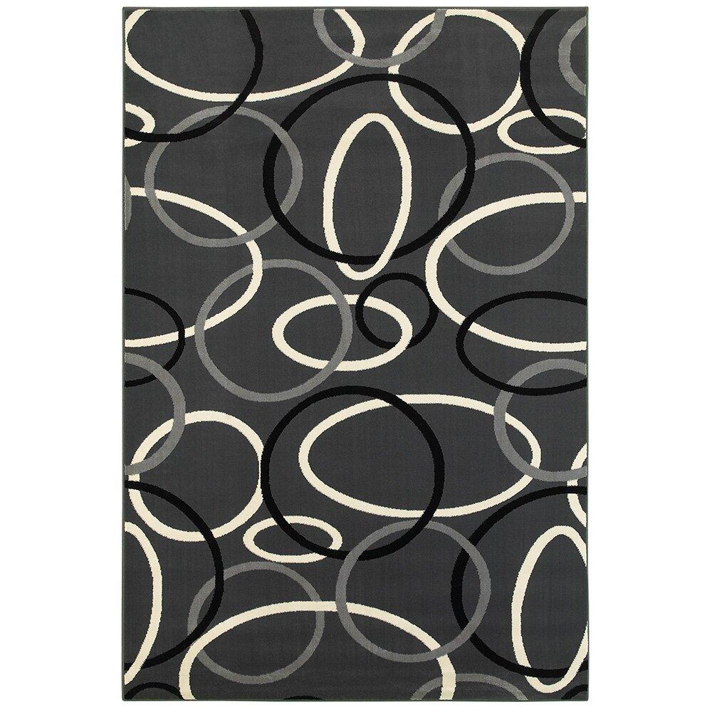 Charcoal Area Rug Home Decor