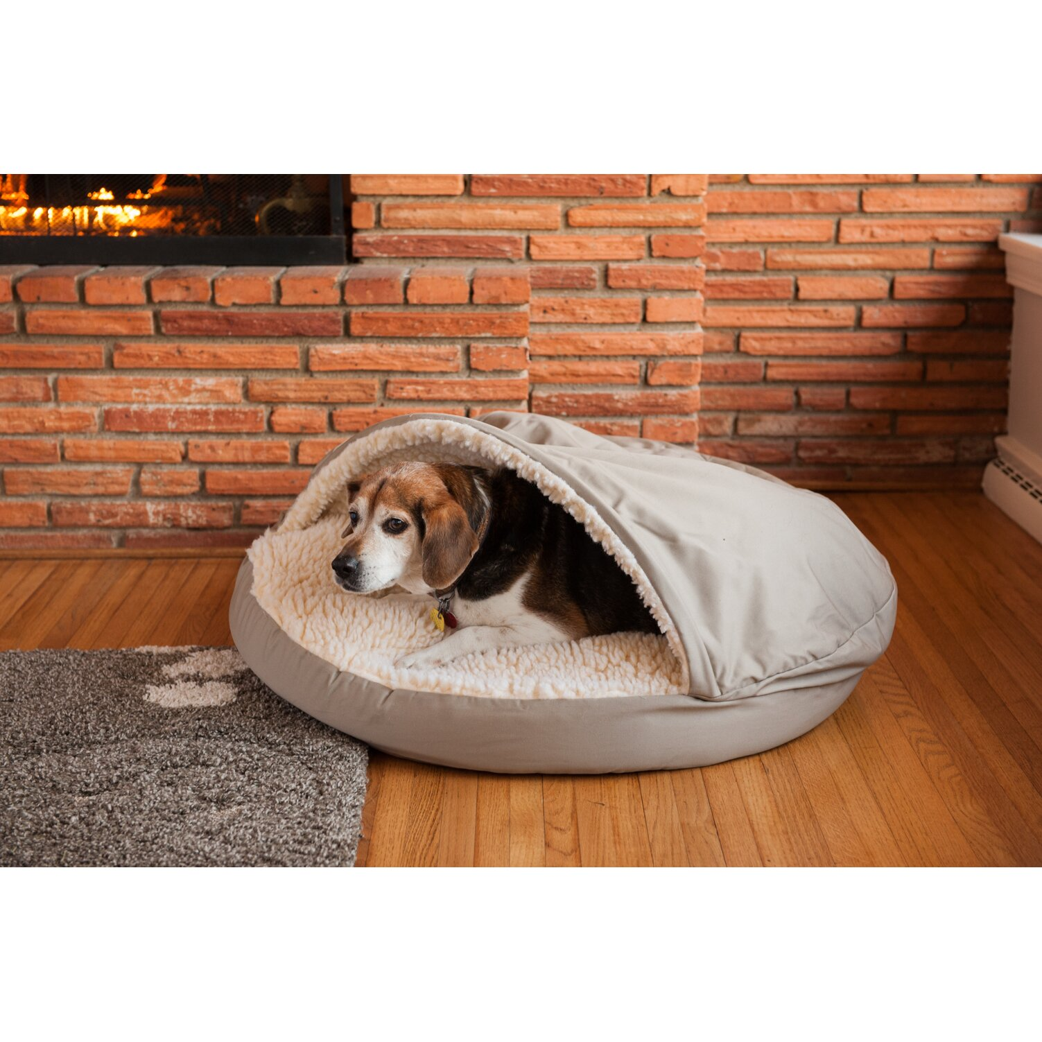 snoozer cozy cave hooded dog bed reviews wayfair. Black Bedroom Furniture Sets. Home Design Ideas