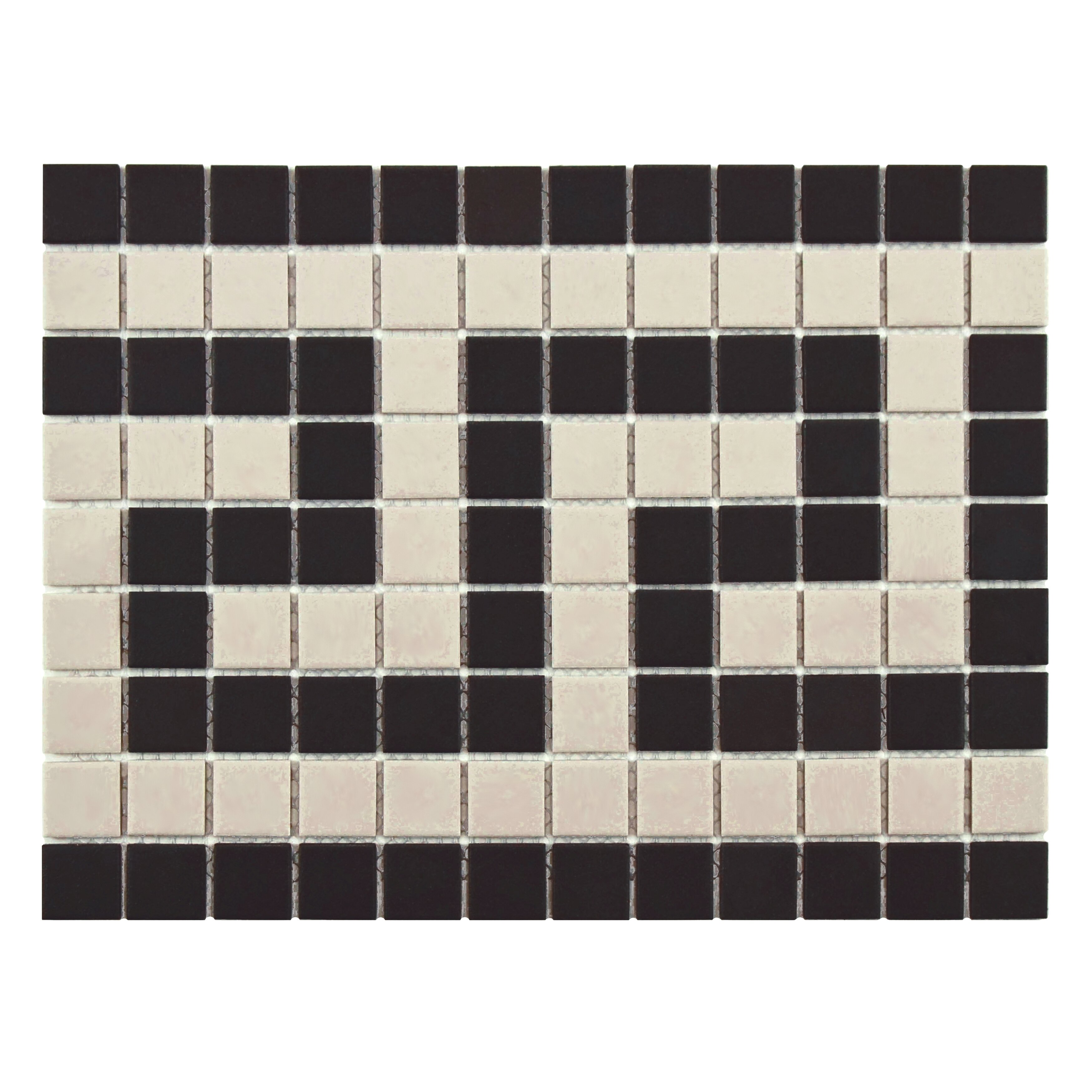 EliteTile New York 1 X 1 Unglazed Porcelain Floor and Wall Trim  Tile in