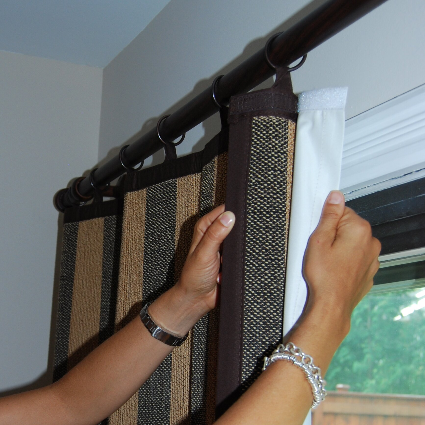 symple stuff insulated thermal blackout curtain panel